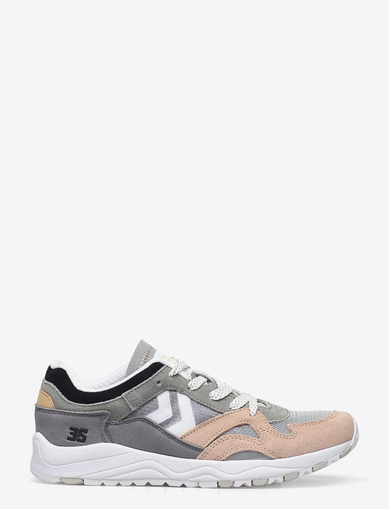 Hummel - EDMONTON 3S SUEDE - laag sneakers - sharkskin - 0