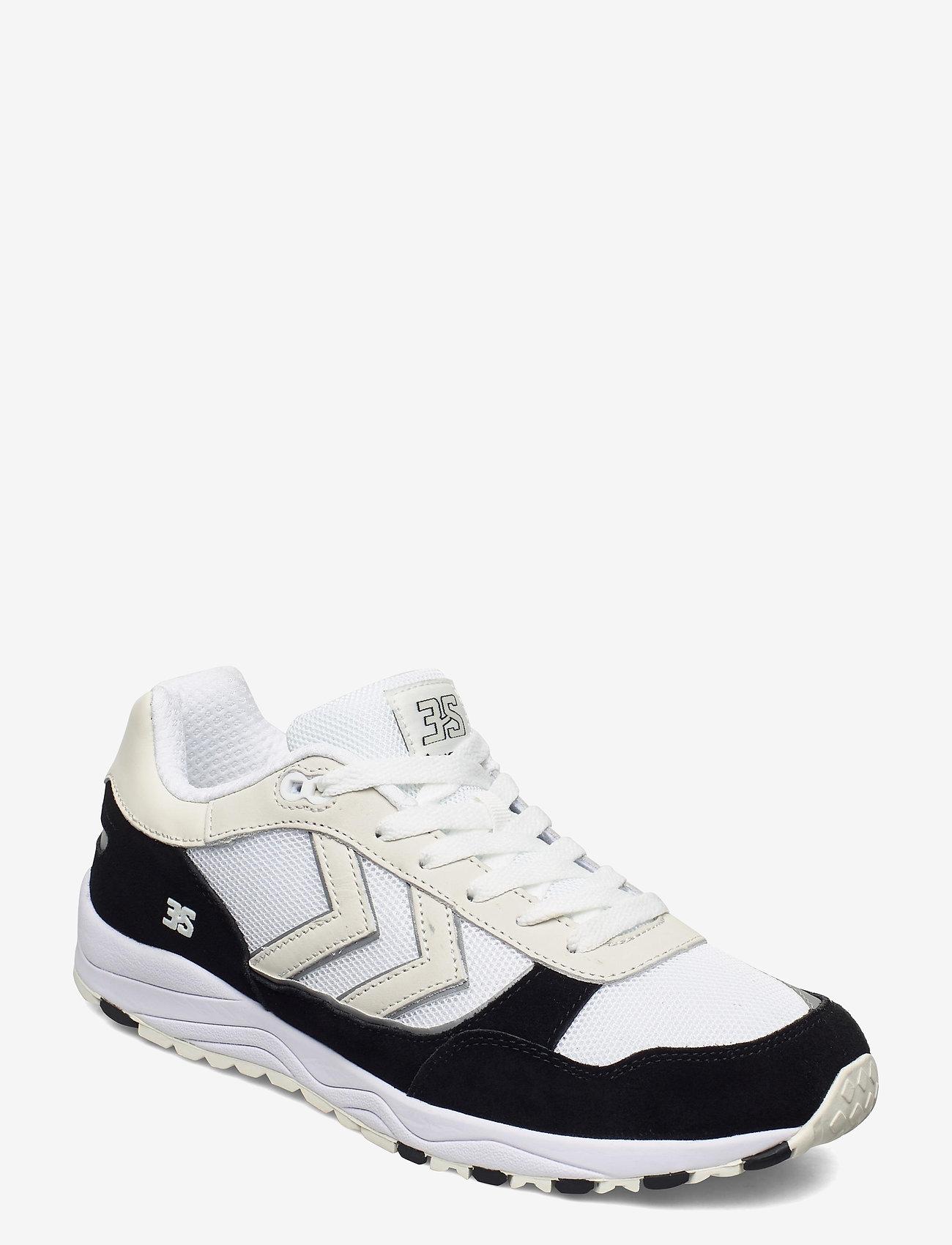 Hummel - 3-S SPORT SUEDE HIVE - laag sneakers - black - 1