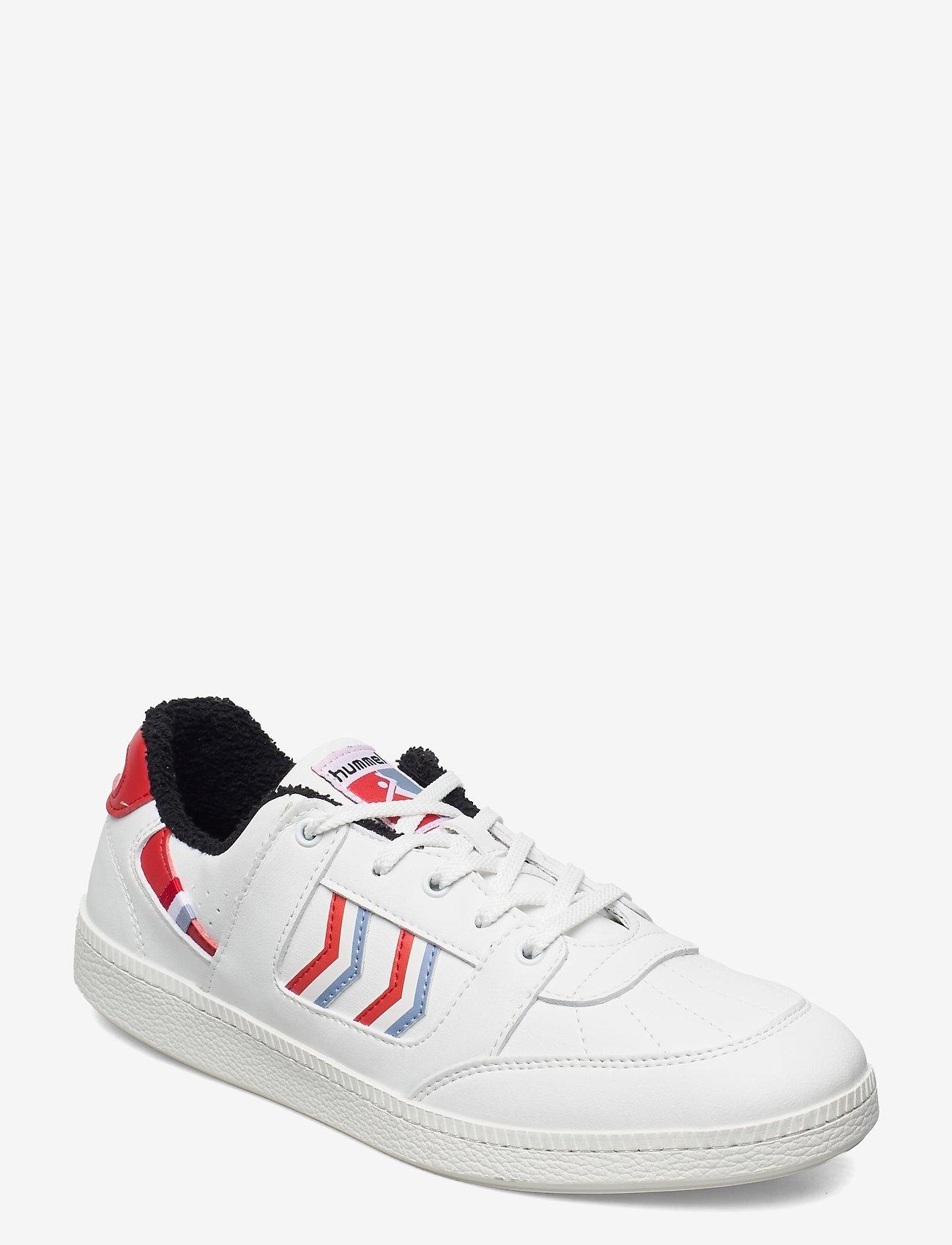 Hummel - SEOUL VEGAN ARCHIVE - laag sneakers - white/fiery red - 1
