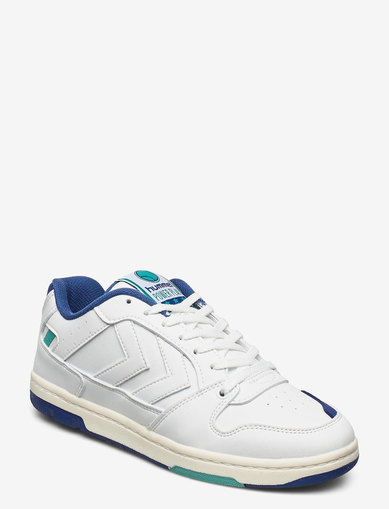 Hummel - POWER PLAY VEGAN ARCHIVE - laag sneakers - white/blue/green - 1