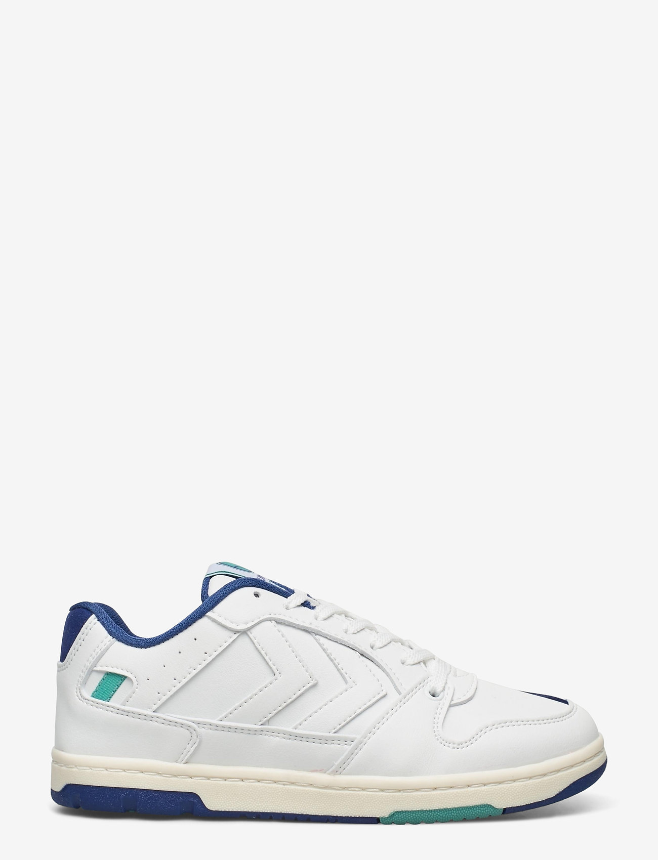 Hummel - POWER PLAY VEGAN ARCHIVE - laag sneakers - white/blue/green - 0