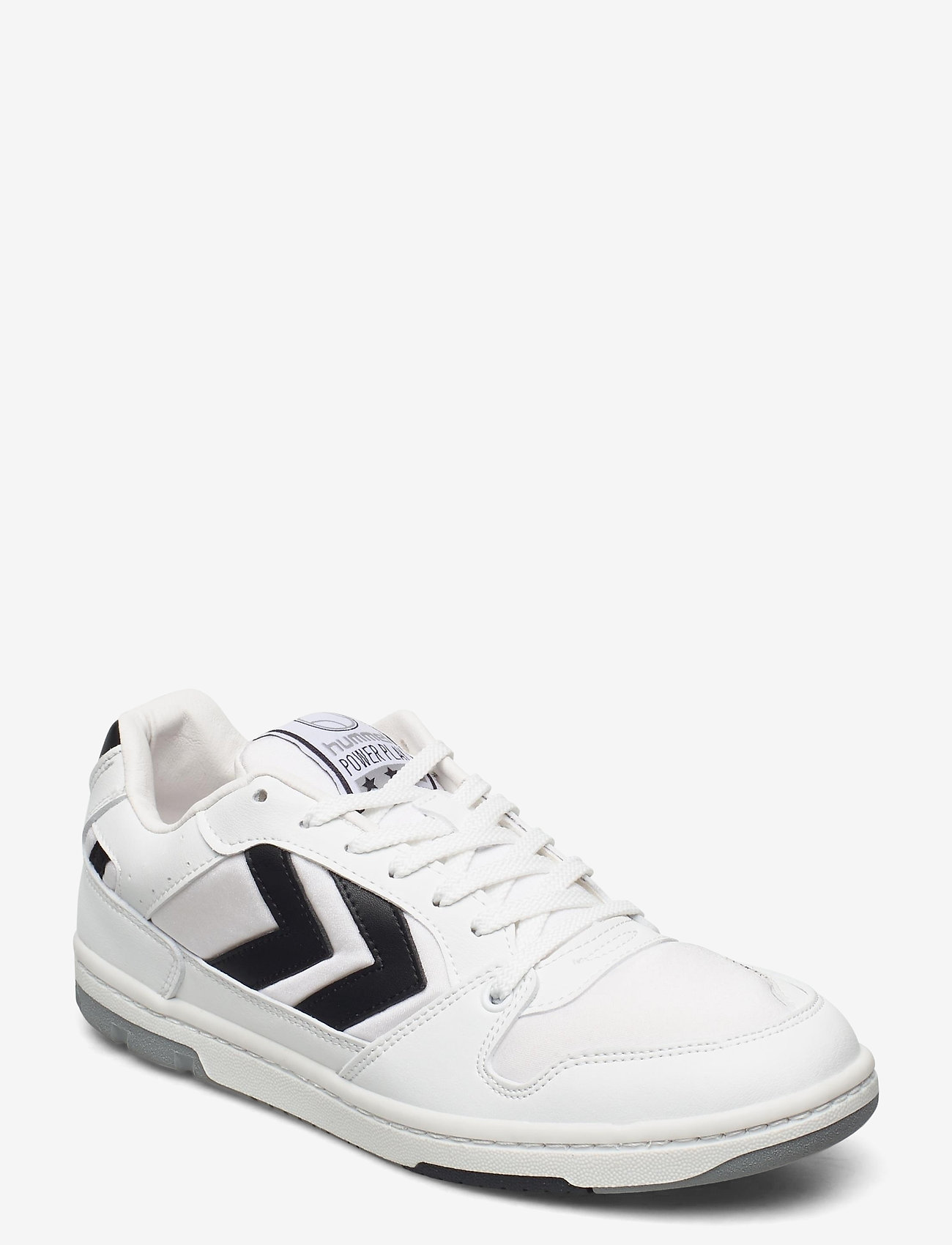 Hummel - POWER PLAY VEGAN ARCHIVE - laag sneakers - white/anthracite - 1