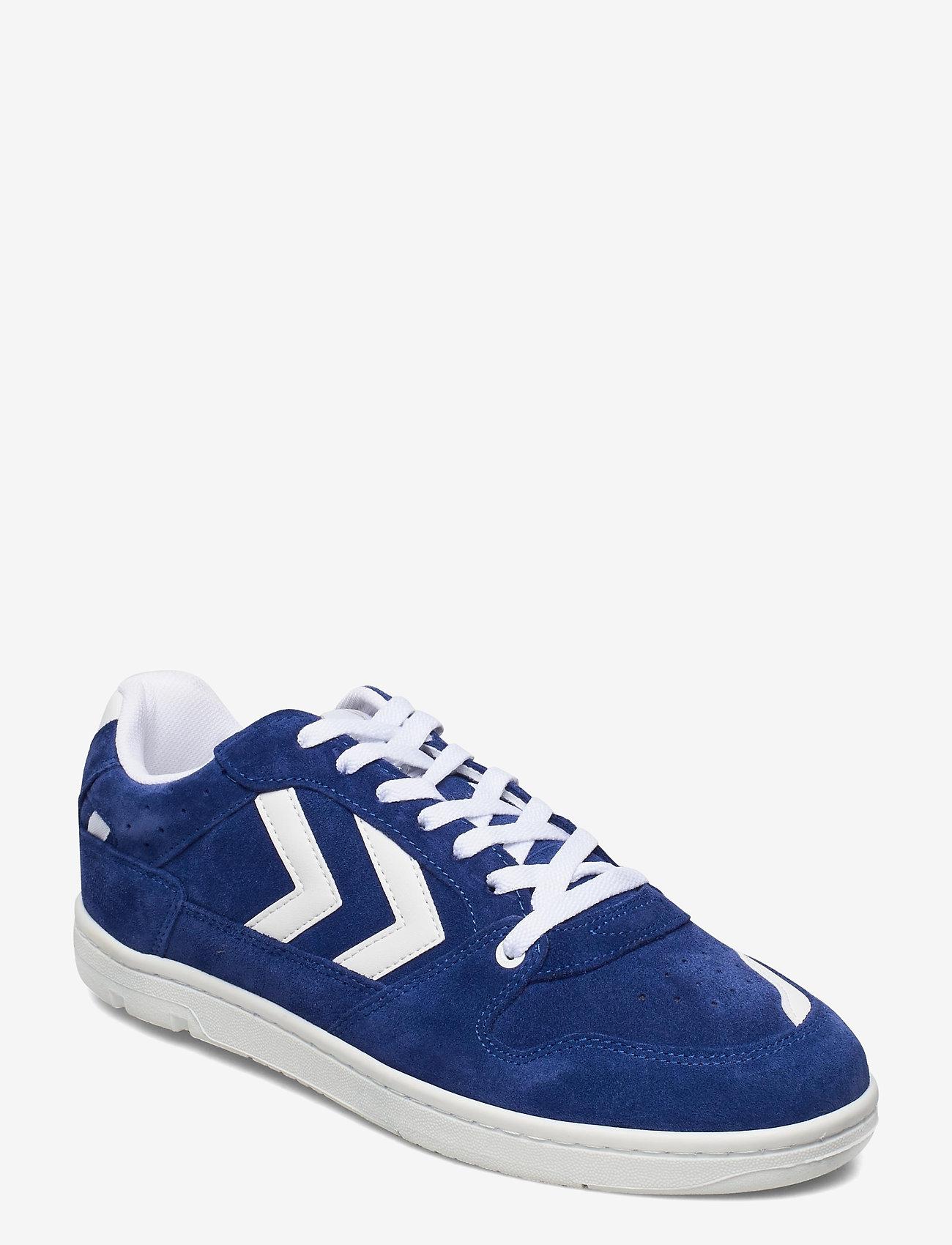 Hummel - POWER PLAY SUEDE - laag sneakers - mazarine blue - 1