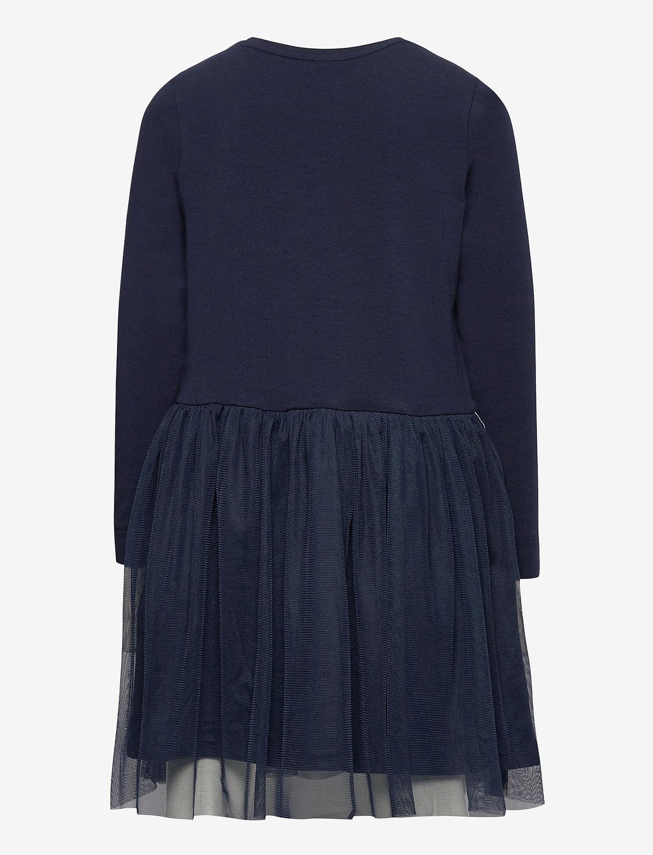 Hummel - hmlMAE DRESS L/S - dresses - black iris - 1