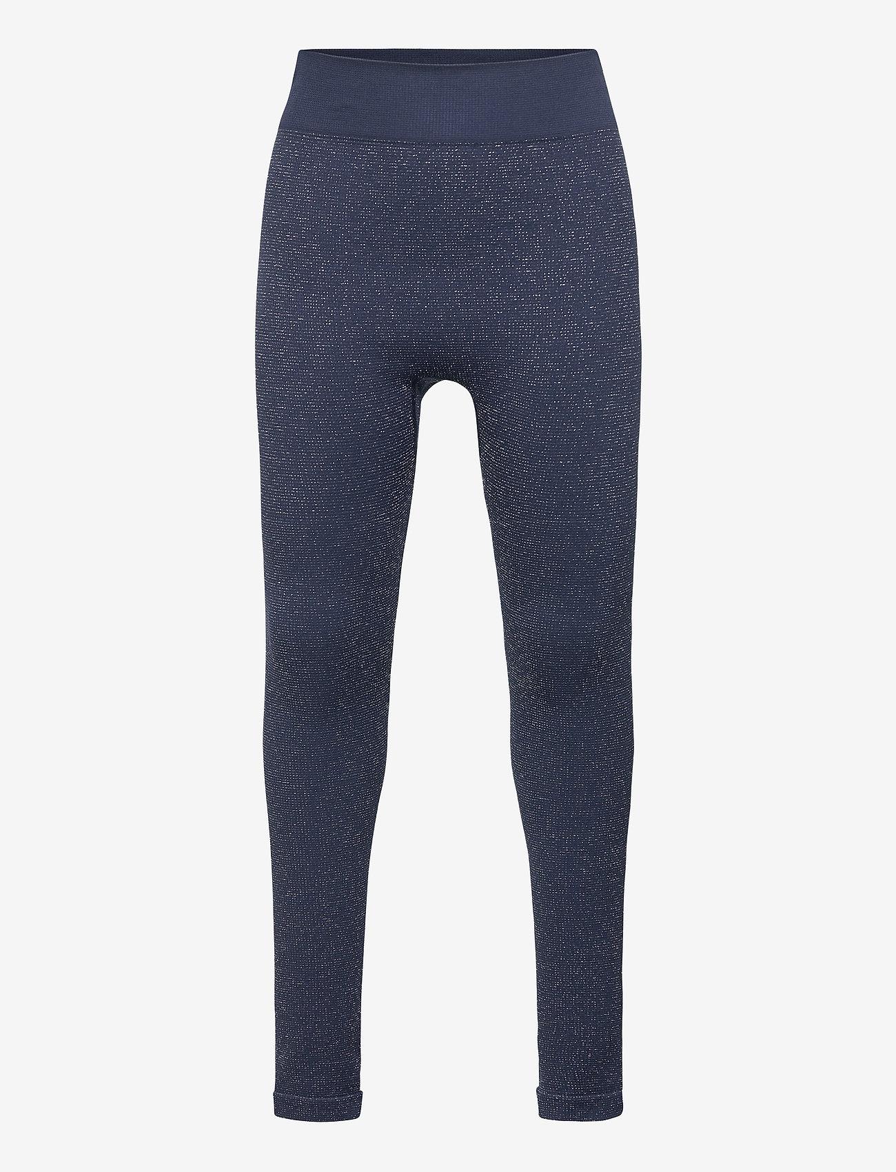 Hummel - hmlJULIA SEAMLESS TIGHTS - leggings - black iris - 0