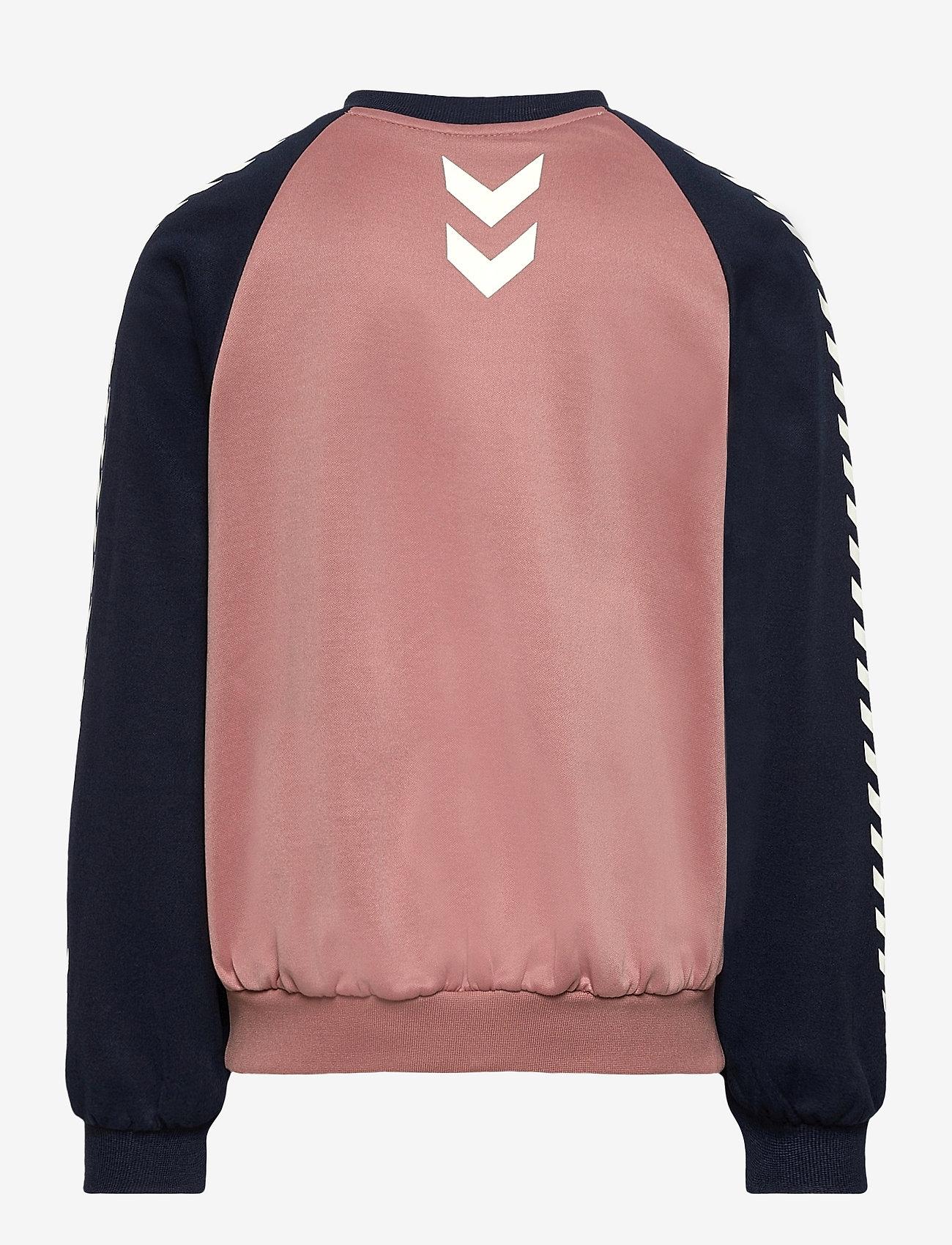 Hummel - hmlLINE ZIP JACKET - sweatshirts - black iris - 1