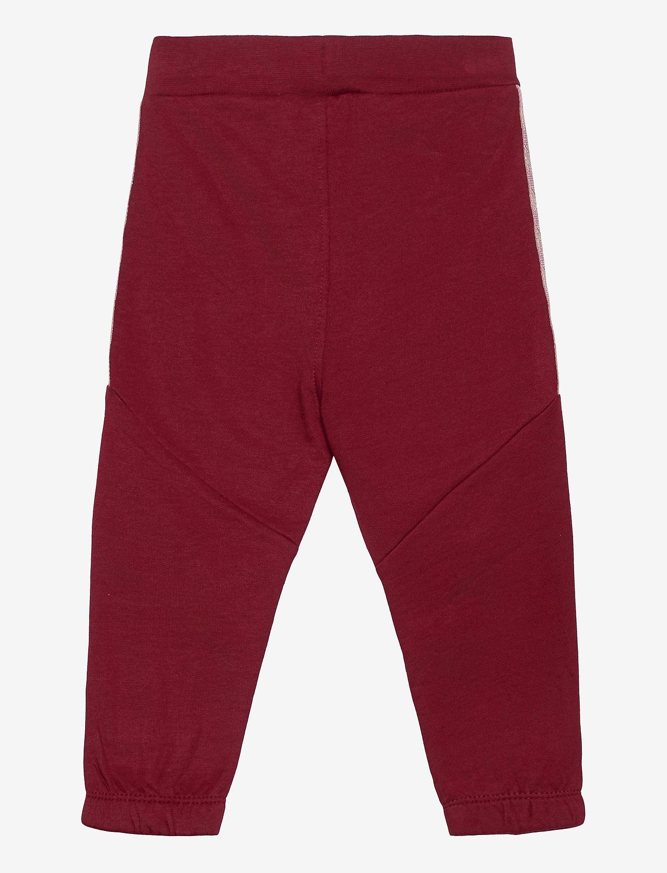 Hummel - hmlBLESS PANTS - sweatpants - cabernet - 1