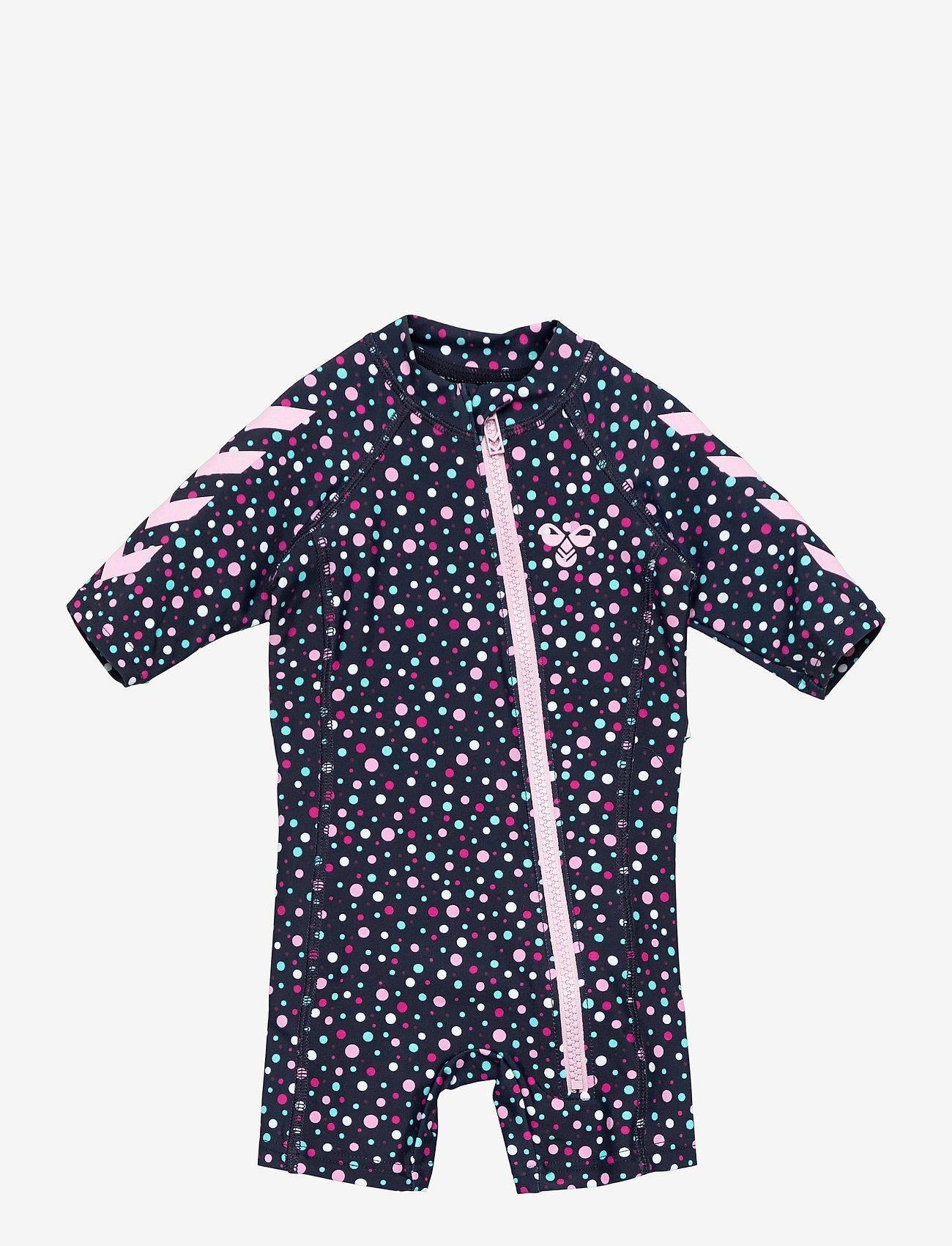 Hummel - hmlBEACH SWIMSUIT - swimsuits - black iris/sweet lilac - 0