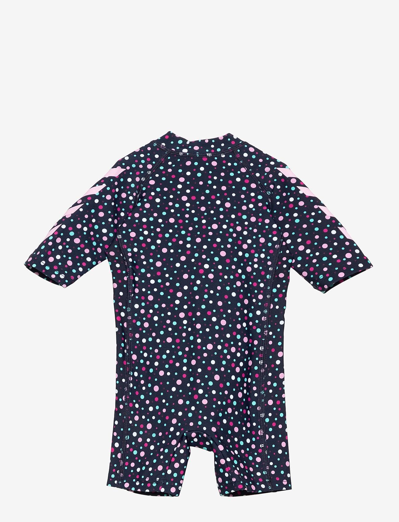 Hummel - hmlBEACH SWIMSUIT - swimsuits - black iris/sweet lilac - 1