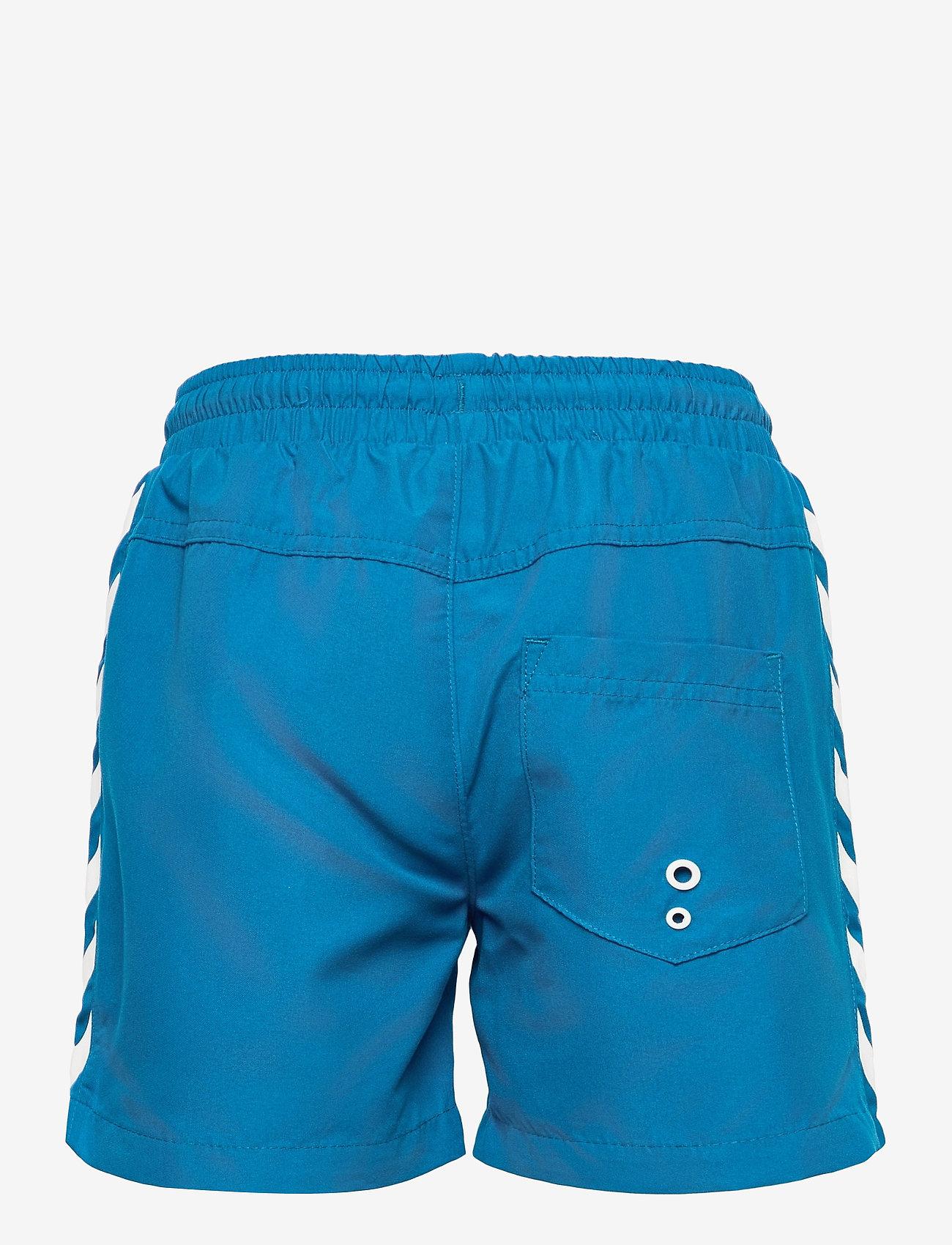 Hummel - hmlDELTA BOARD SHORTS - bademode - mykonos blue - 1