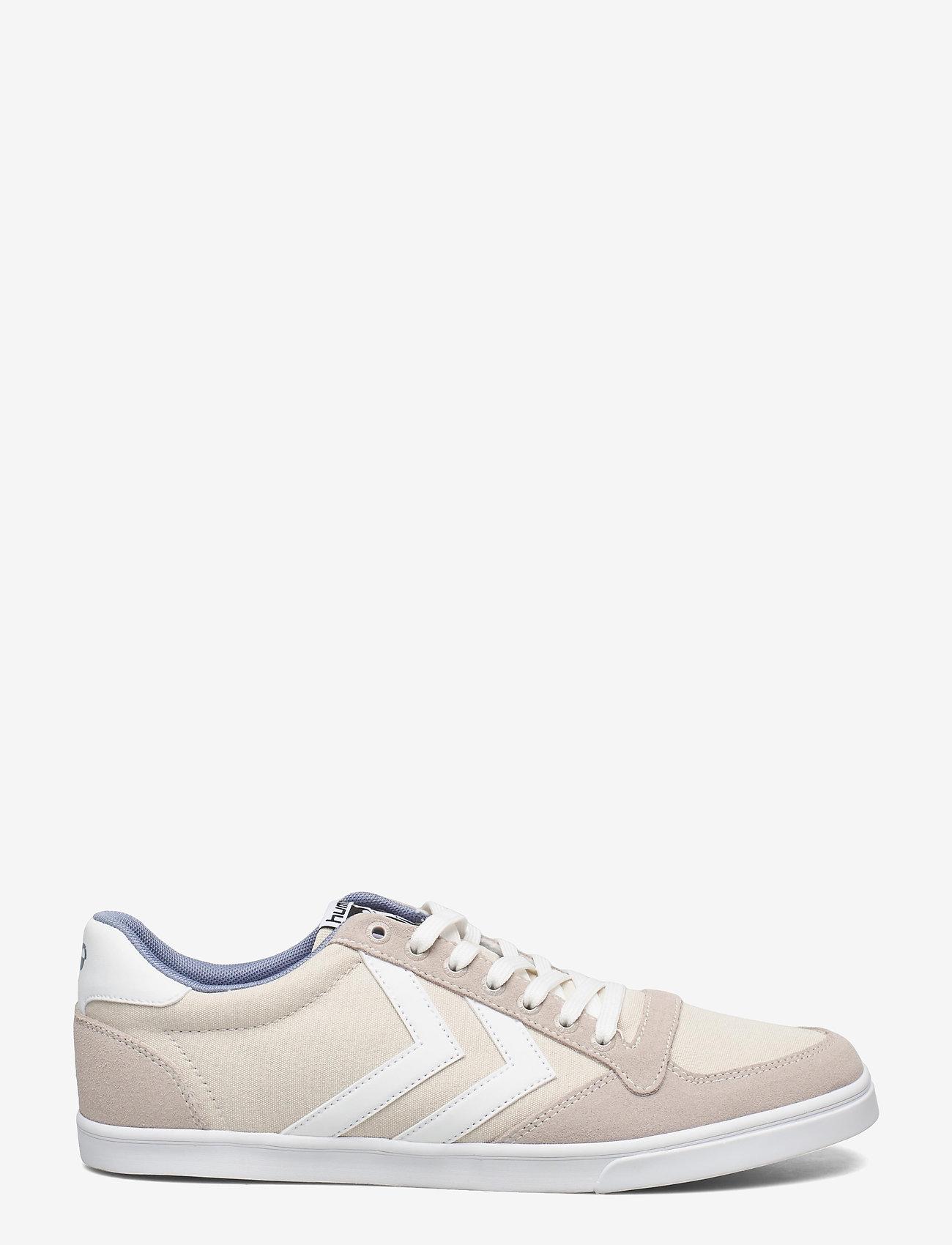 Hummel - SLIMMER STADIL LOW - laag sneakers - bone white - 0