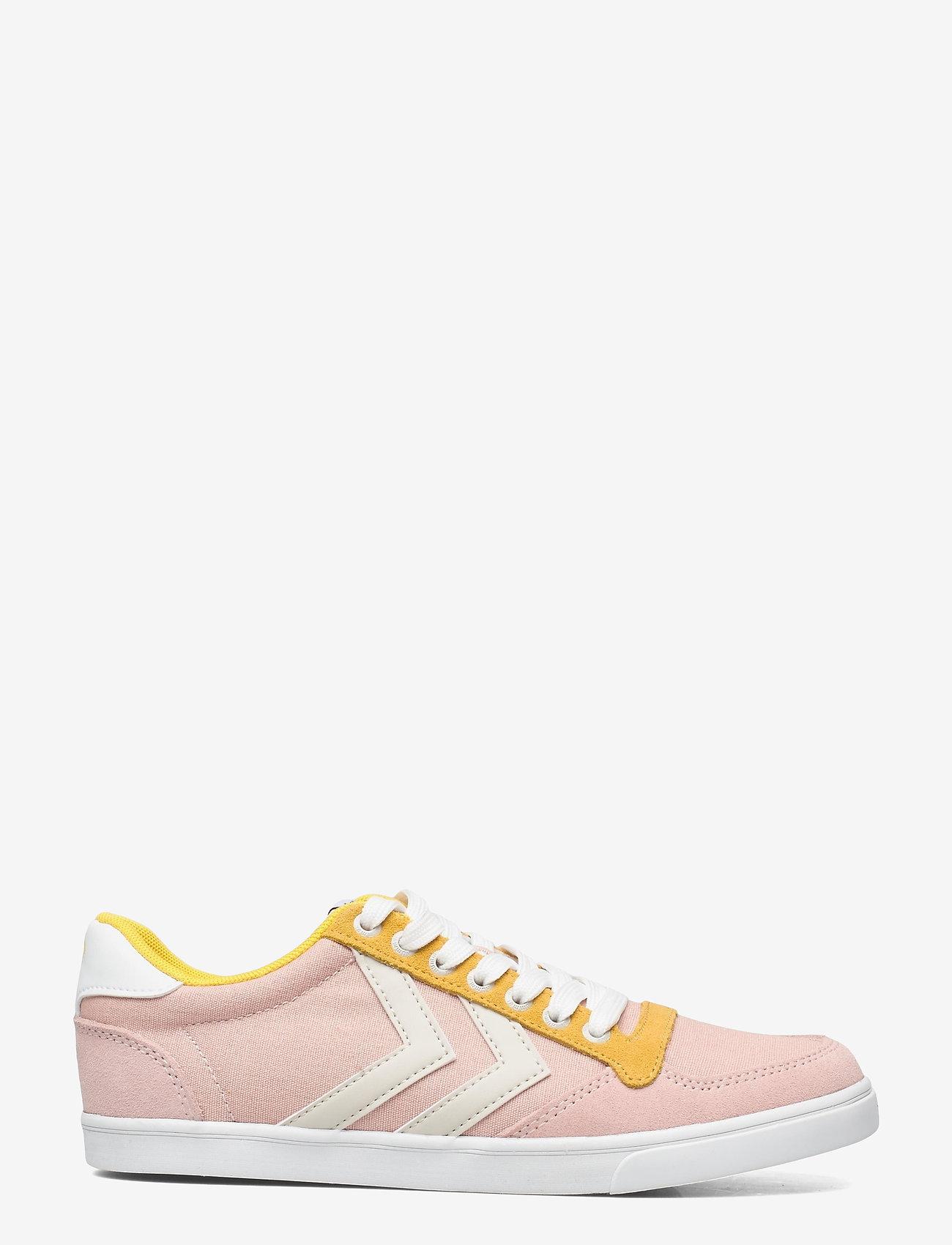 Hummel - SLIMMER STADIL LOW - laag sneakers - cloud pink - 0
