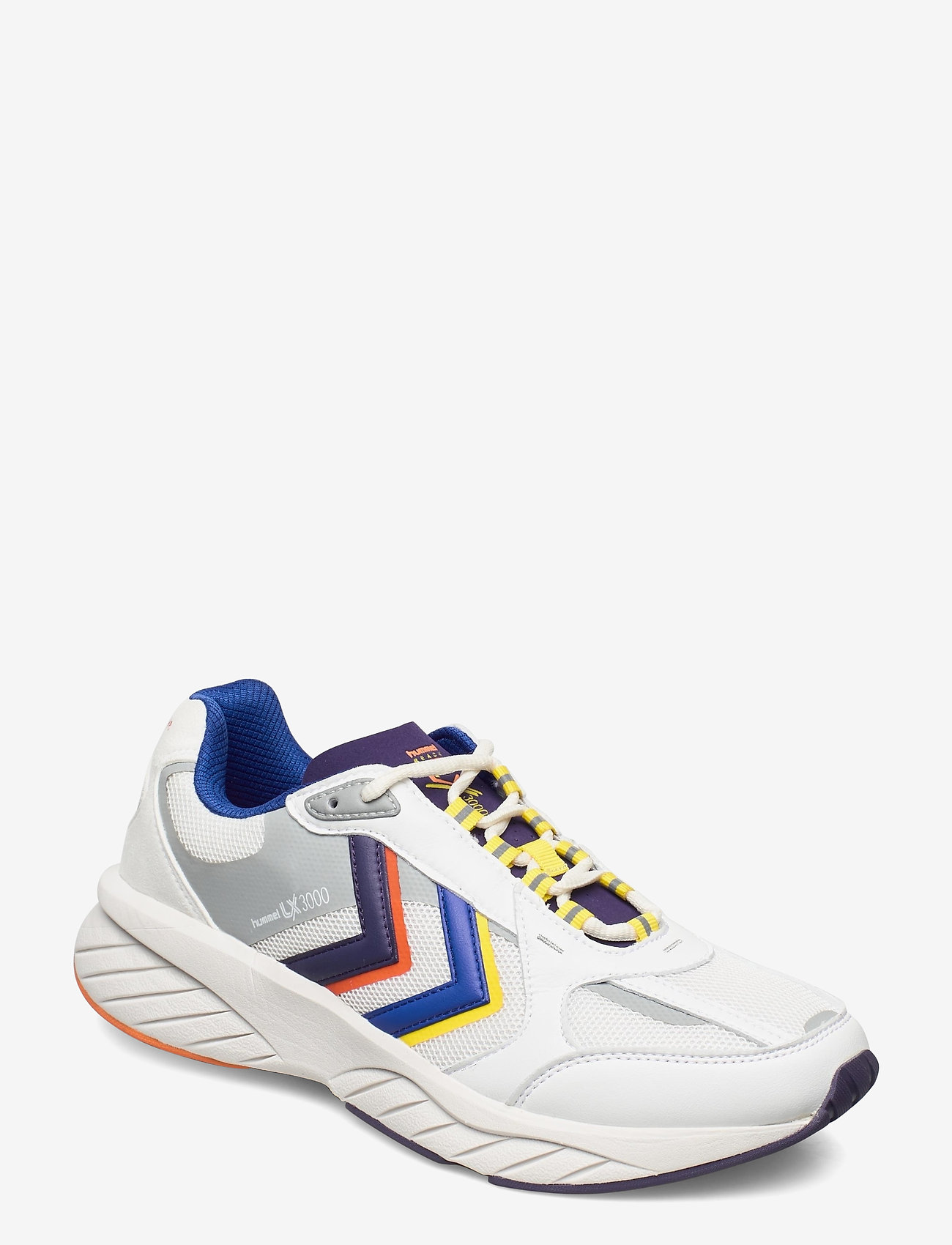 Hummel - REACH LX 3000 - laag sneakers - white/blackberry cordial - 0