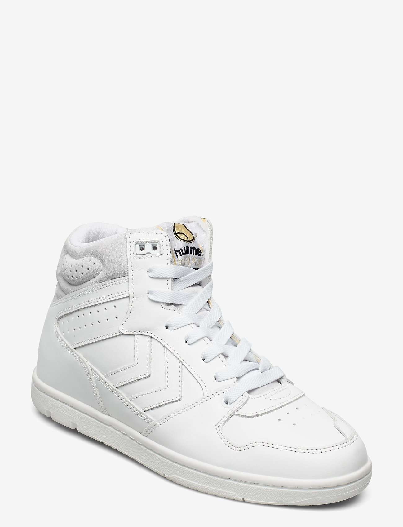 Hummel - POWER PLAY MID - laag sneakers - white - 1