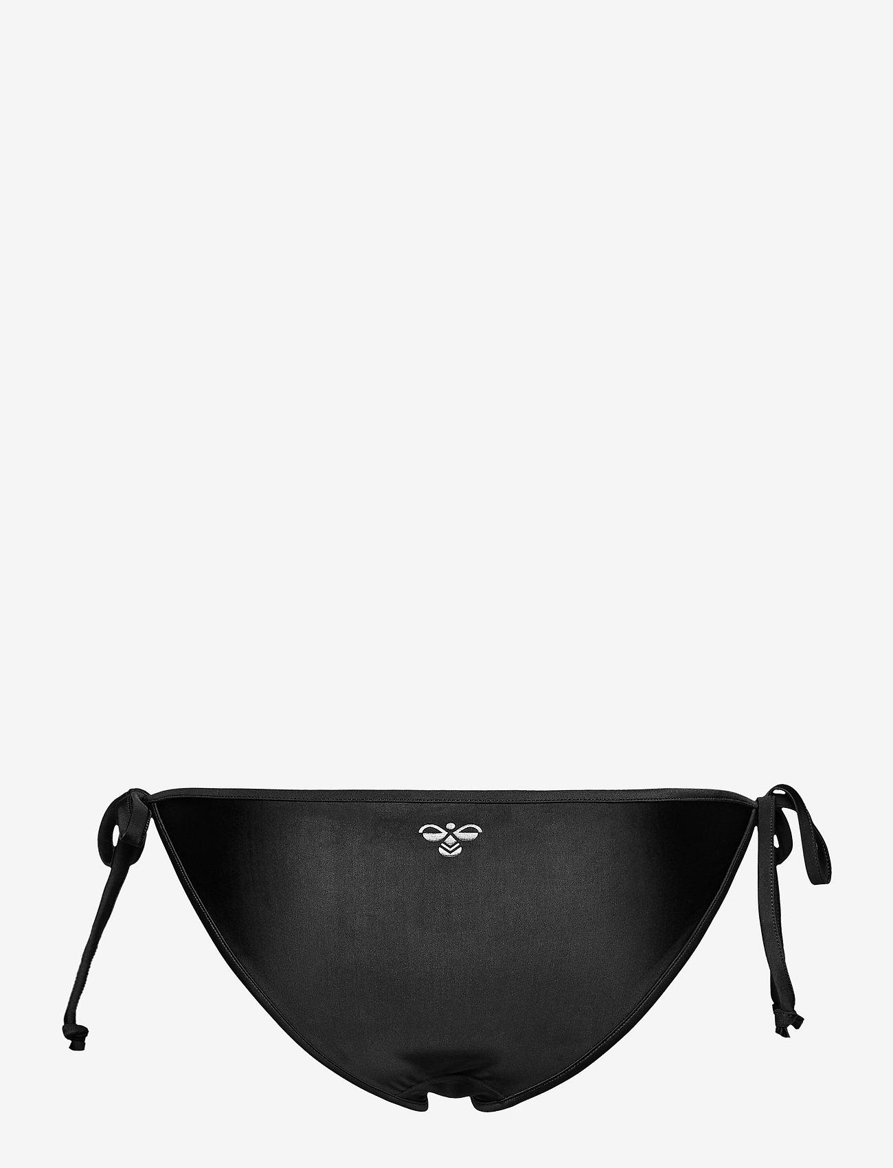 Hummel - hmlSHAKI SWIM TANGA - bikini z wiązaniami po bokach - black - 1