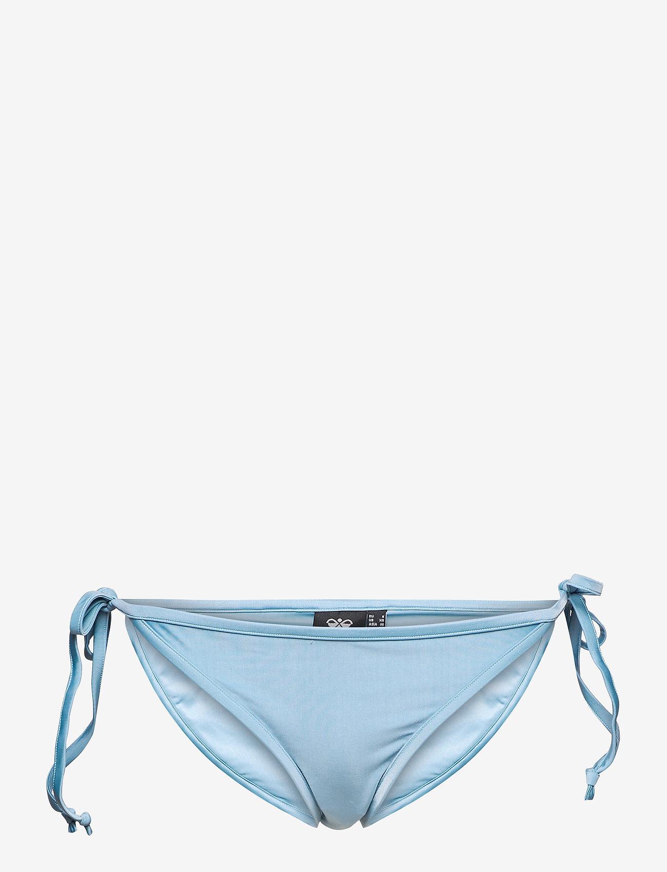 Hummel - hmlSHAKI SWIM TANGA - bikini z wiązaniami po bokach - faded denim - 0