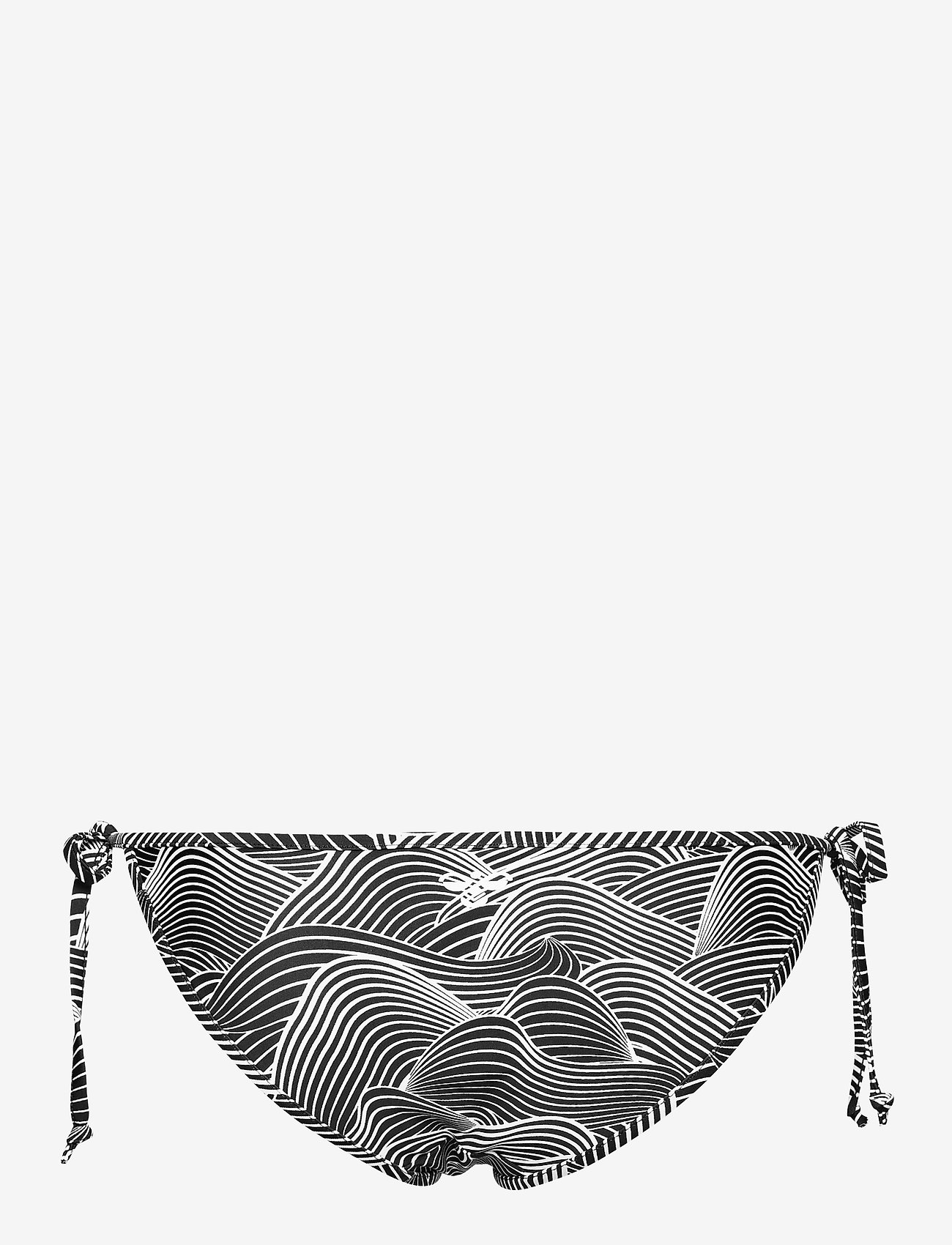 Hummel - hmlOCEAN SWIM TANGA - bikini z wiązaniami po bokach - black/white - 1