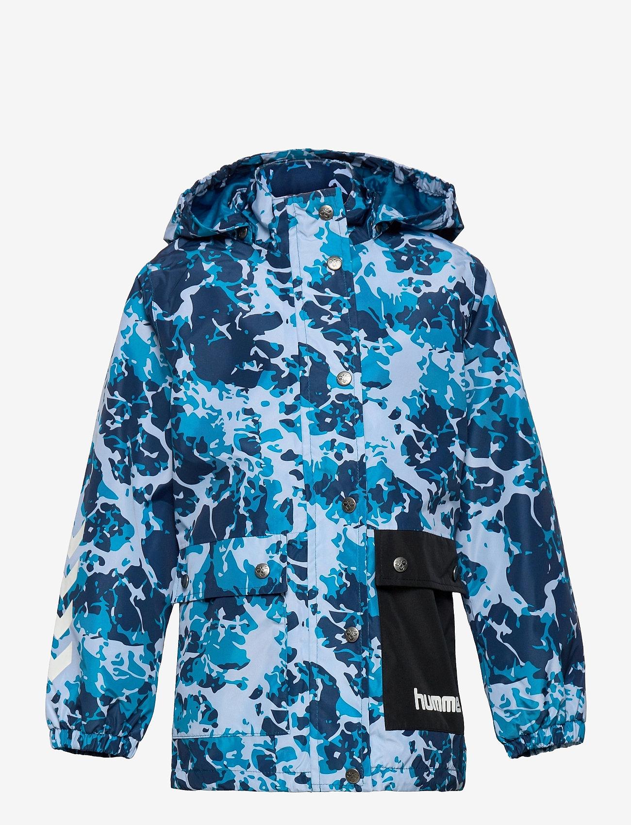 Hummel - hmlLAPLI JACKET - shell & rain jackets - mykonos blue - 0
