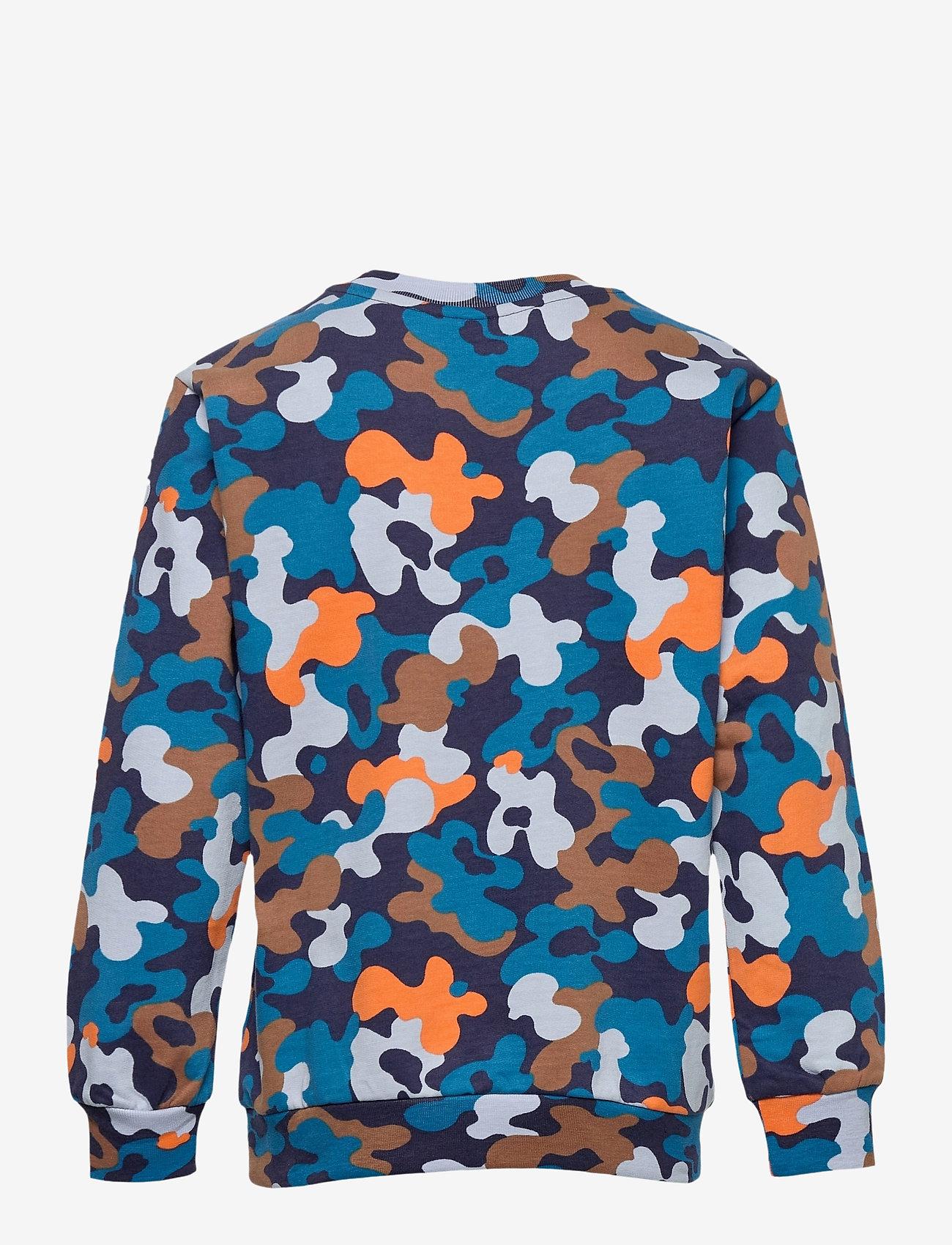 Hummel - hmlACE SWEATSHIRT - sweatshirts - black iris - 1