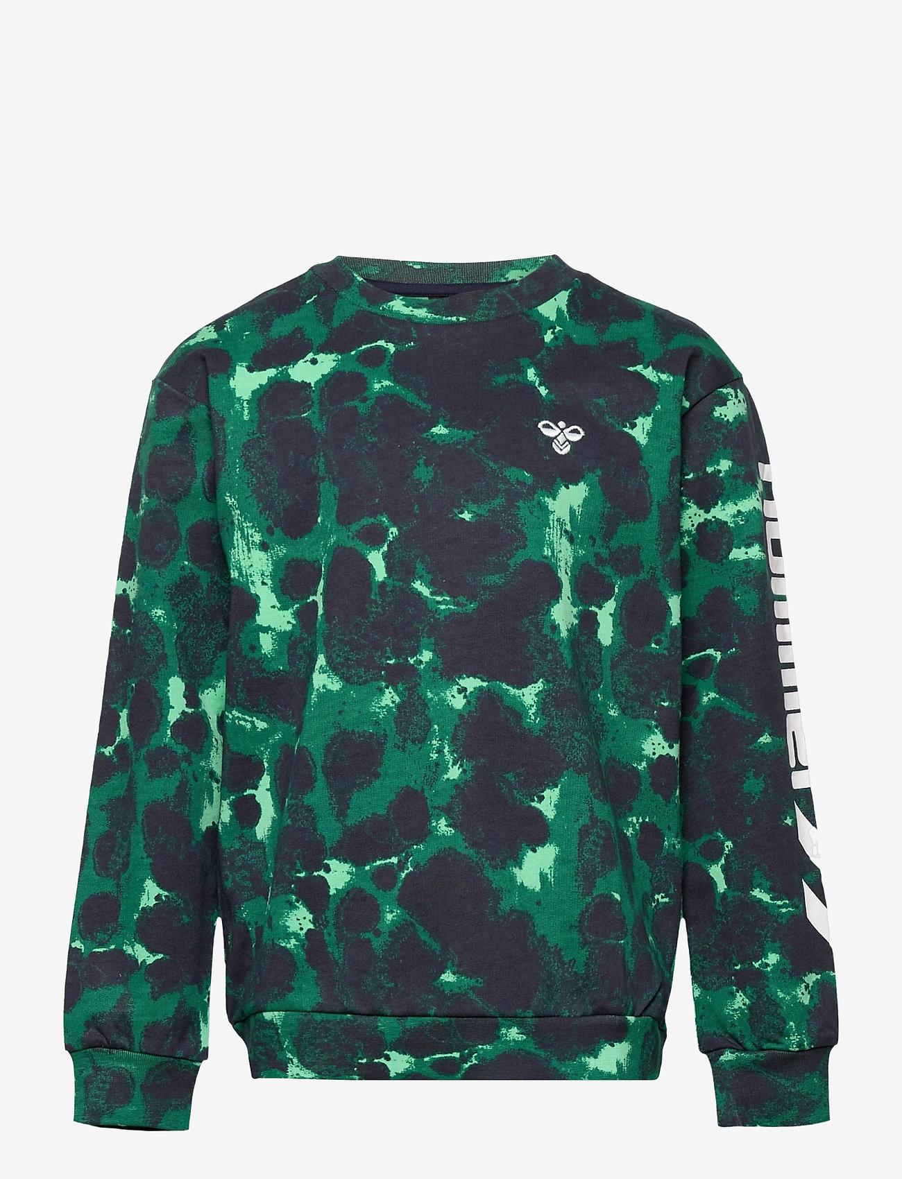 Hummel - hmlDRAKE SWEATSHIRT - sweatshirts - jade cream - 0