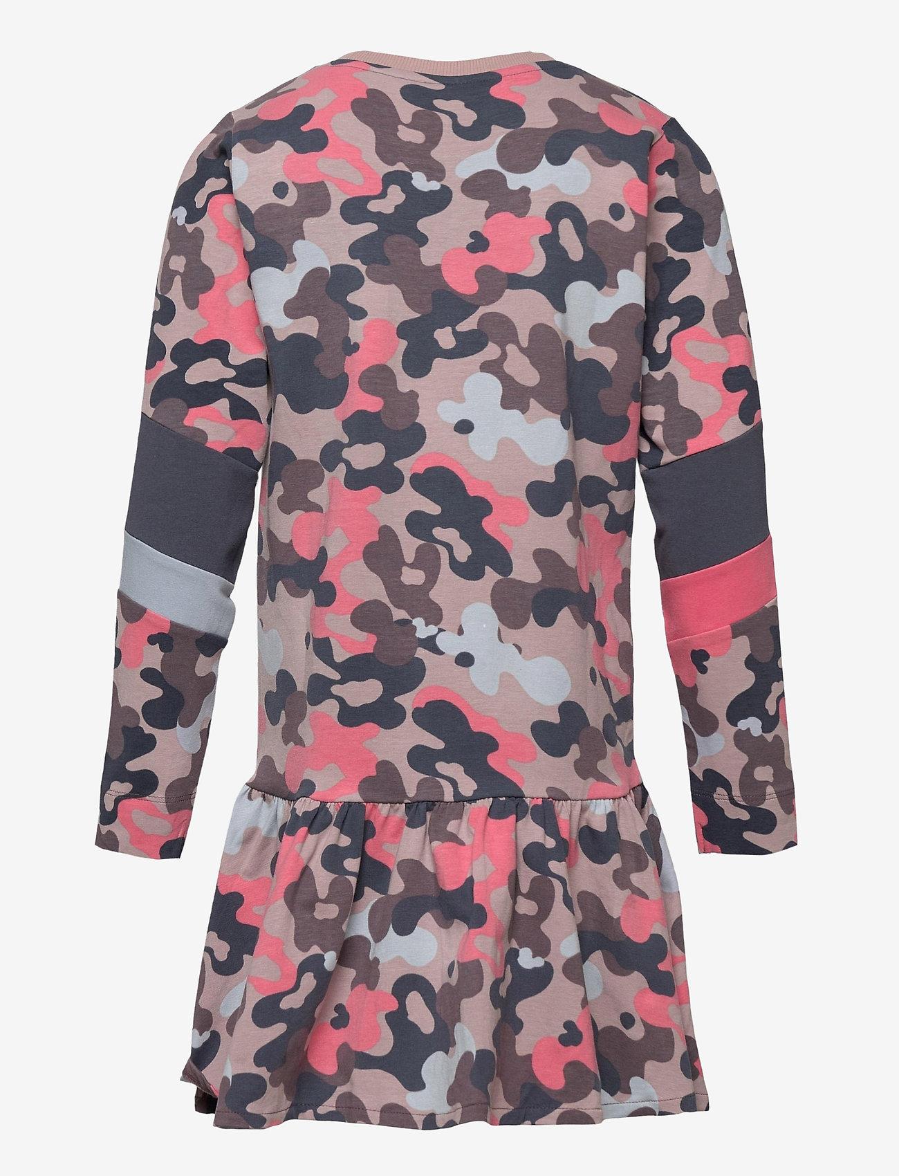 Hummel - hmlPOLLY DRESS L/S - jurken - bark - 1