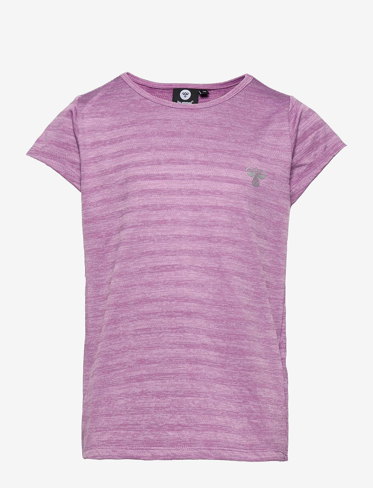 Hummel - hmlSUTKIN T-SHIRT S/S - short-sleeved - chinese violet - 0