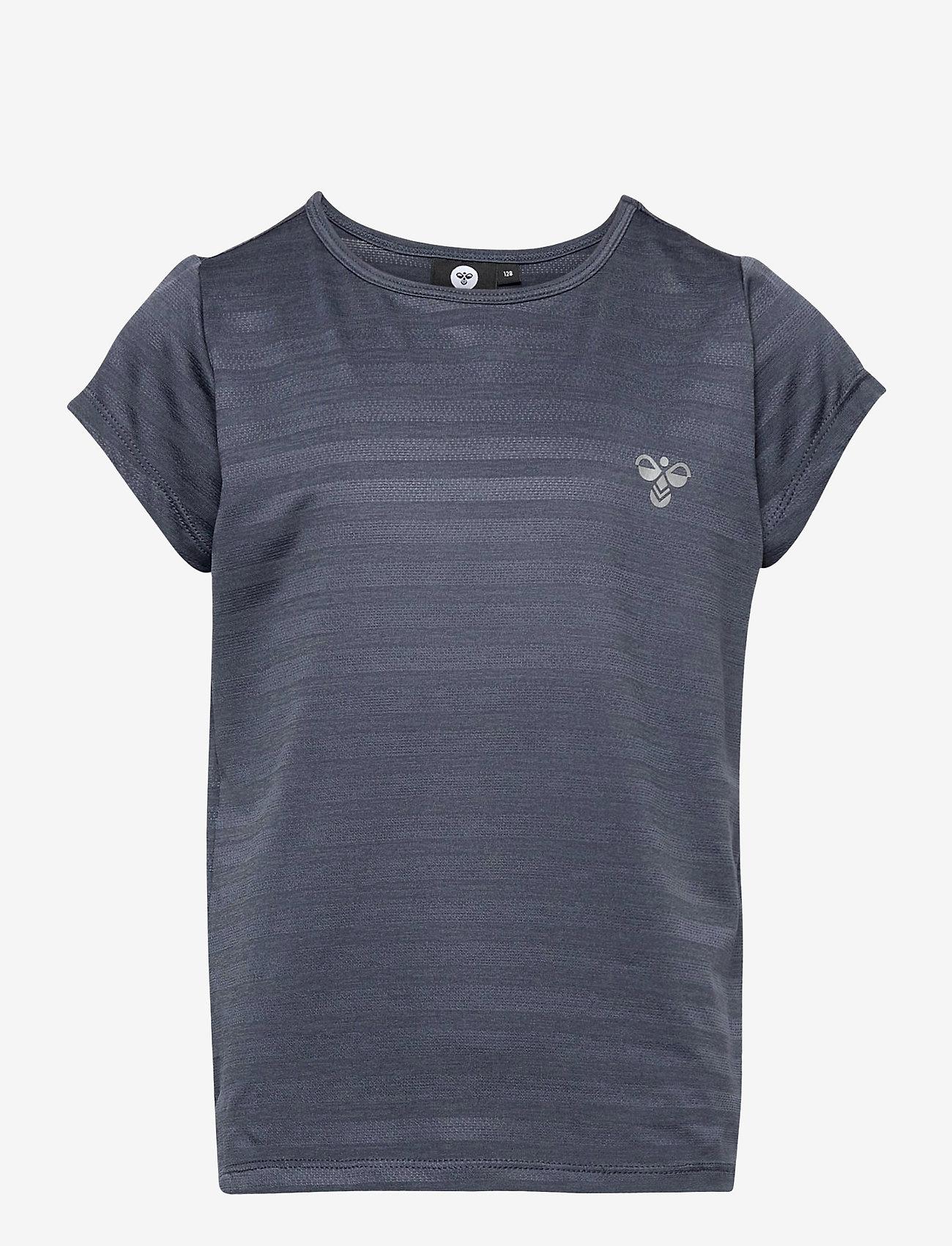 Hummel - hmlSUTKIN T-SHIRT S/S - short-sleeved - ombre blue - 0