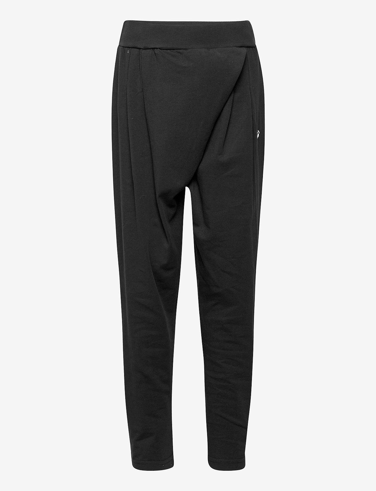 Hummel - hmlANDREA PANTS - trousers - black - 0