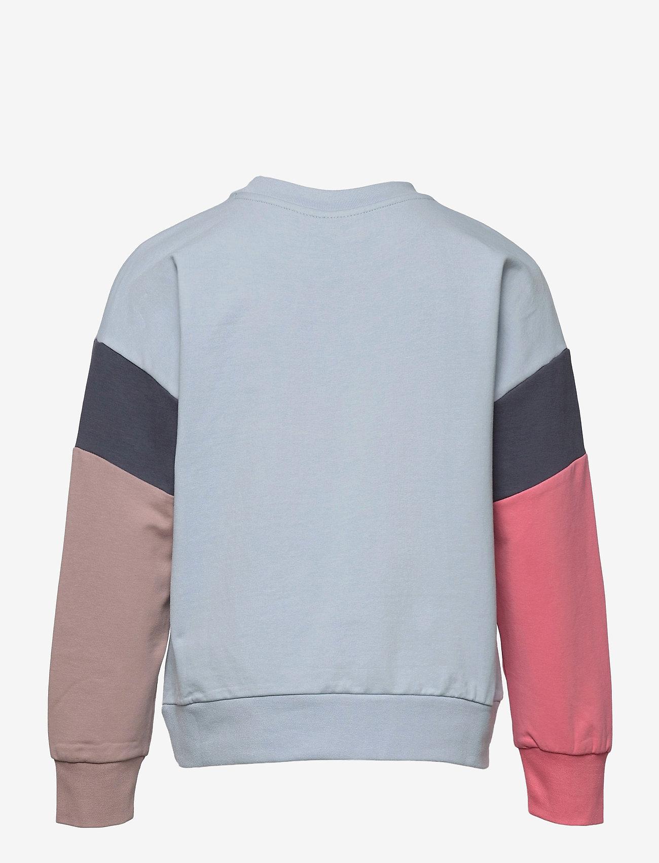 Hummel - hmlURSULA SWEATSHIRT - sweatshirts - blue fog - 1