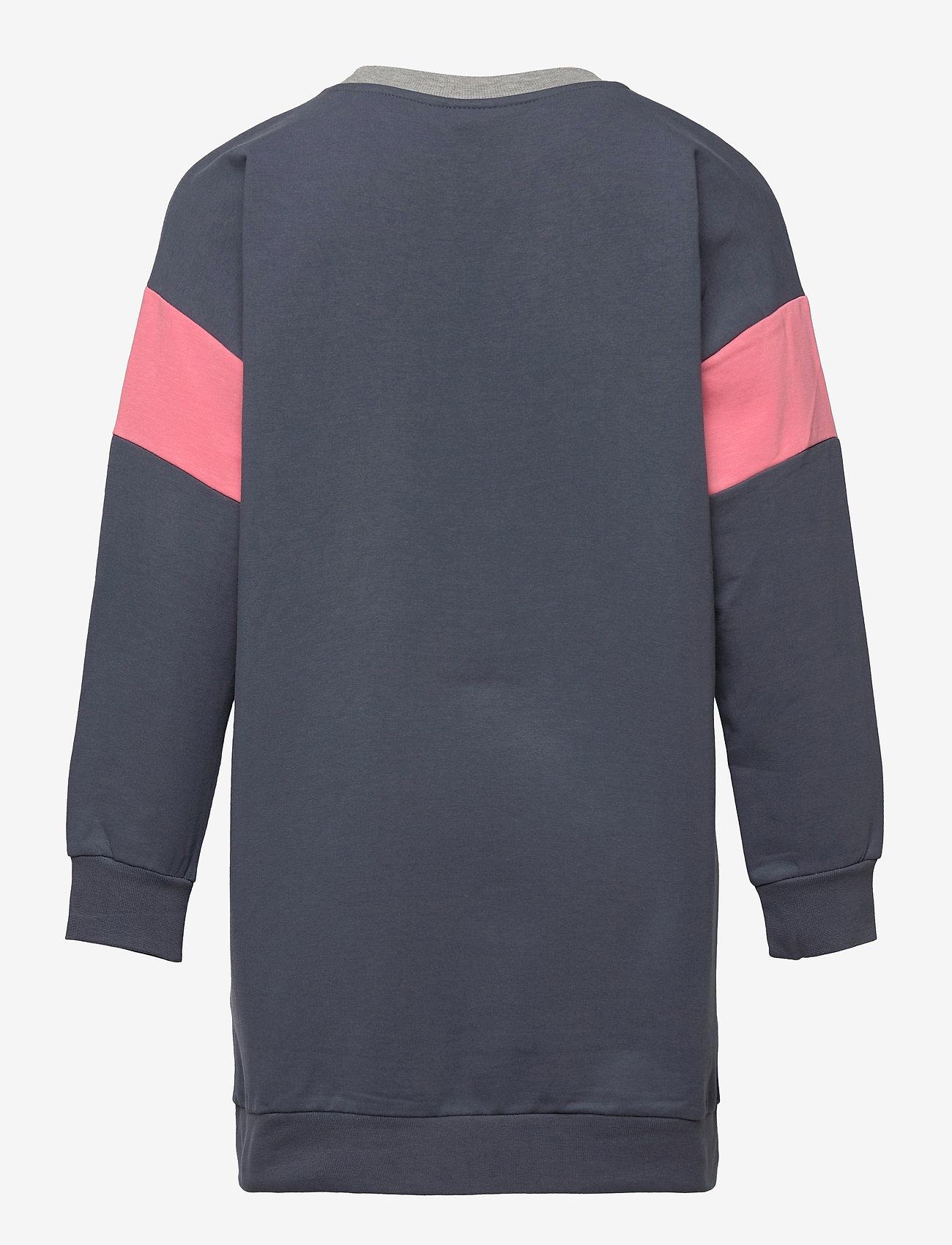 Hummel - hmlTILLY DRESS L/S - kleider - ombre blue - 1