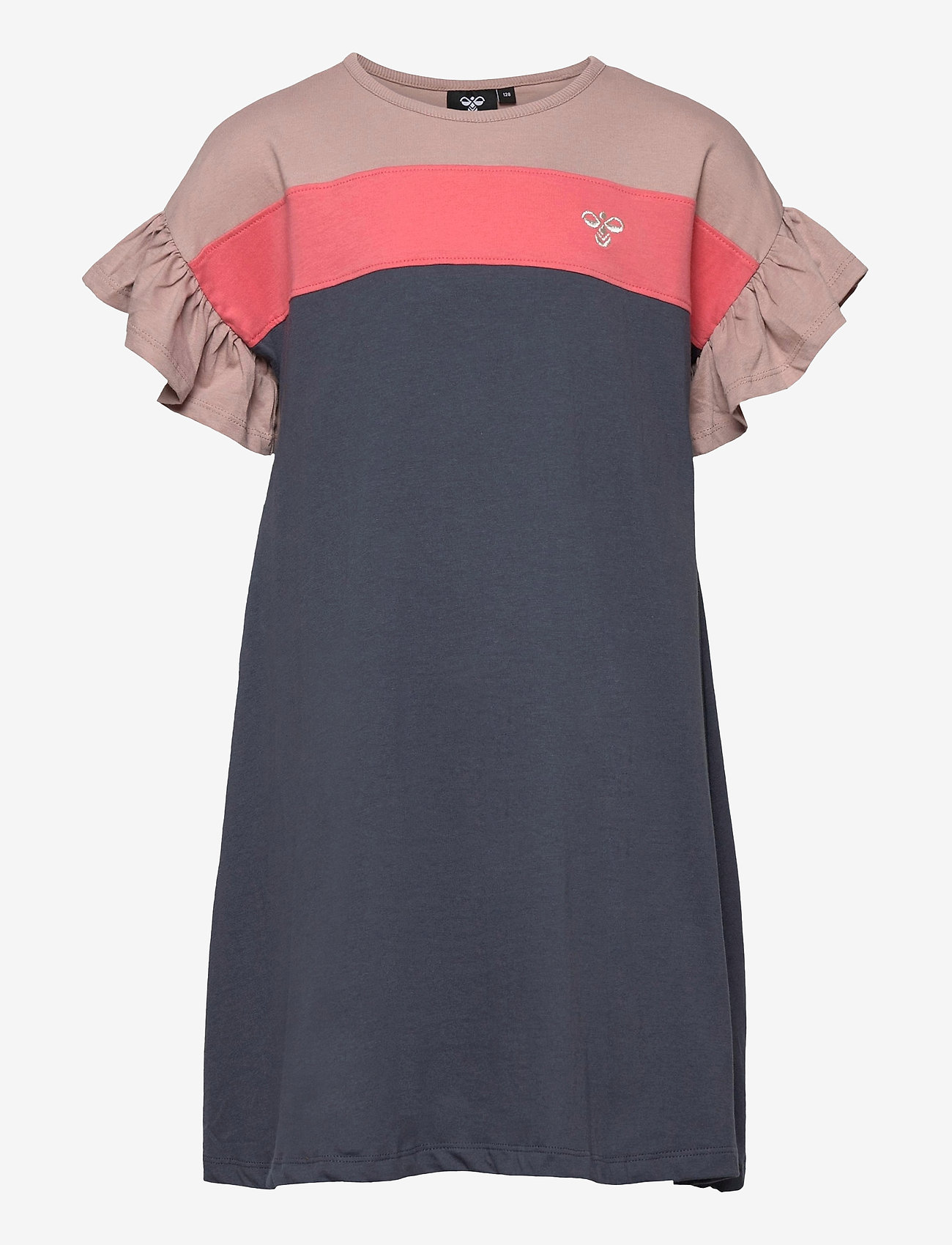 Hummel - hmlANNA DRESS S/S - kleider - ombre blue - 0