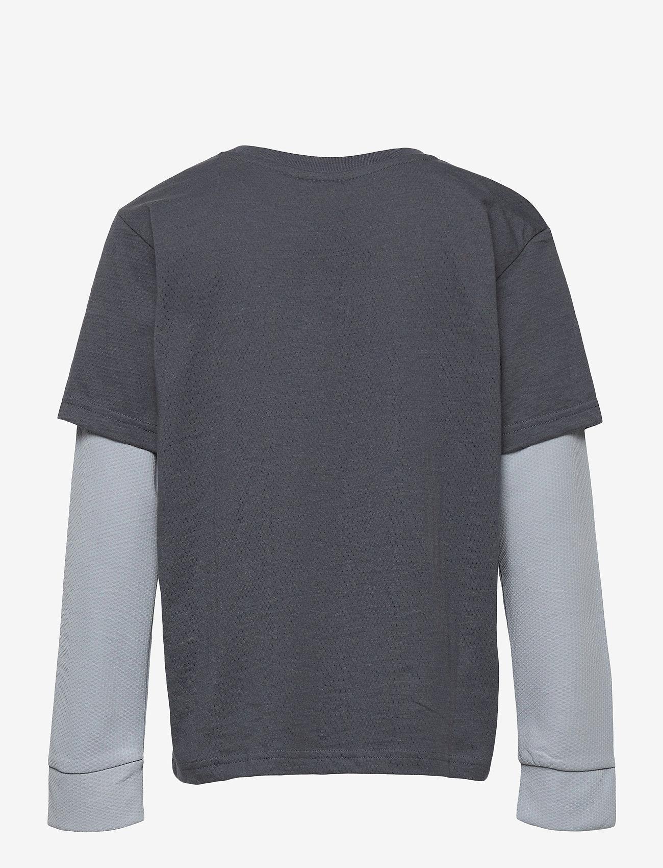 Hummel - hmlMALTE T-SHIRT L/S - long-sleeved t-shirts - ombre blue - 1
