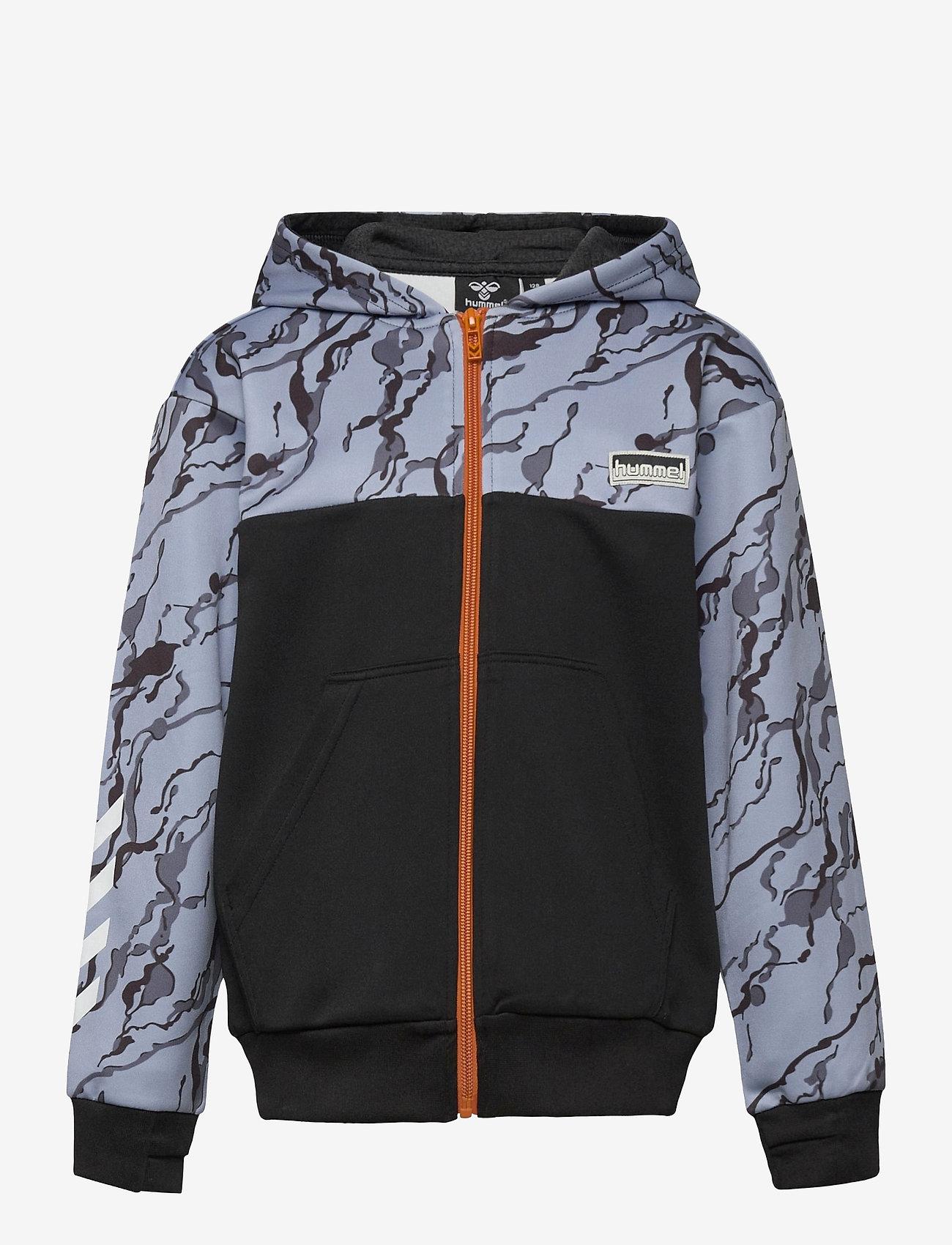 Hummel - hmlNILAR ZIP HOODIE - hoodies - black - 0