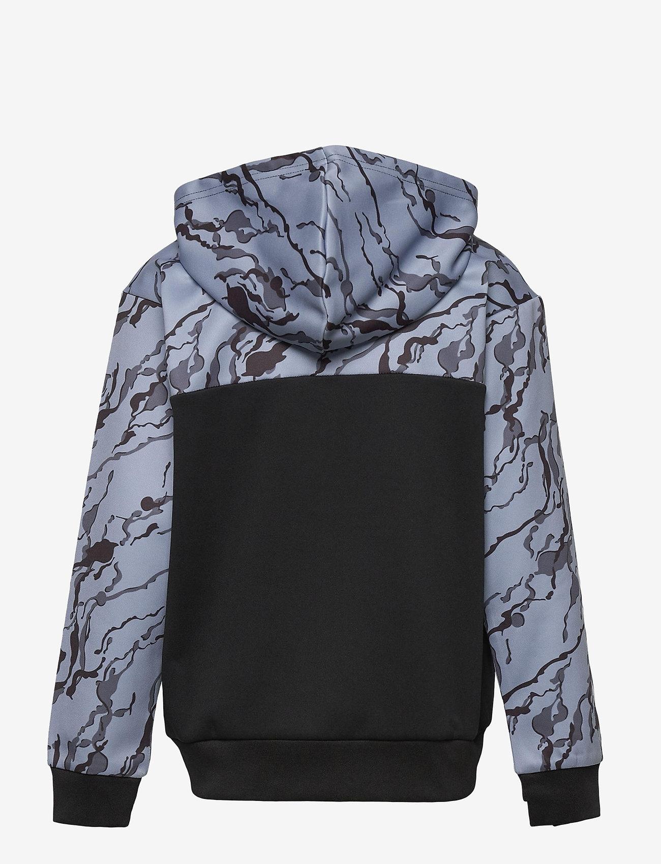 Hummel - hmlNILAR ZIP HOODIE - hoodies - black - 1