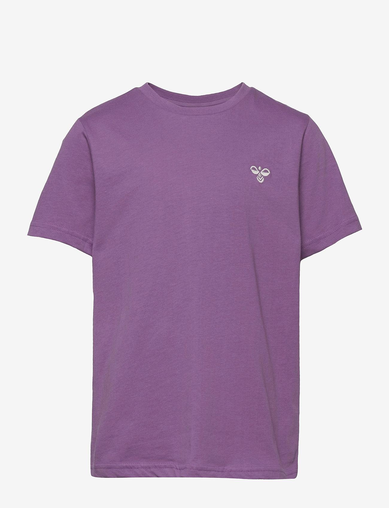 Hummel - hmlUNI T-SHIRT S/S - short-sleeved - chinese violet - 0