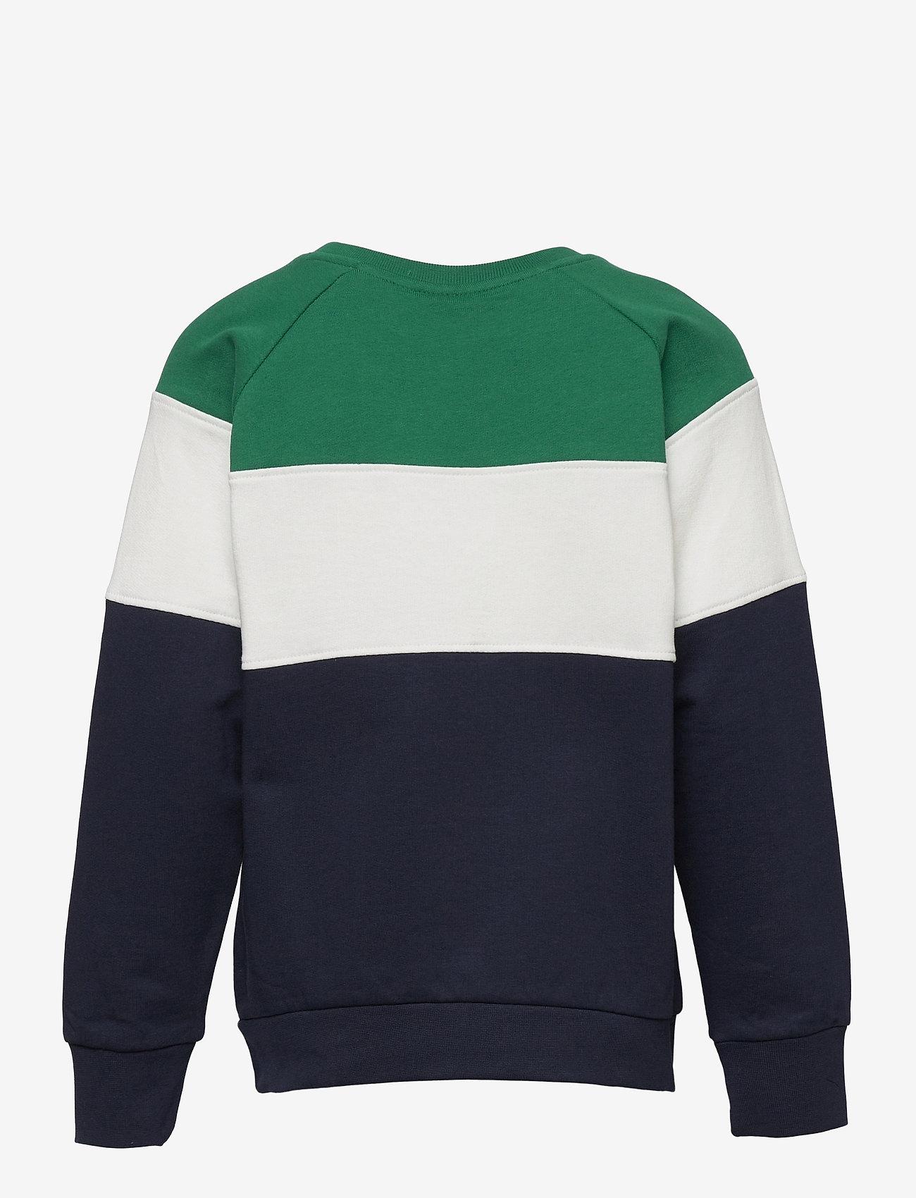 Hummel - hmlCLAES SWEATSHIRT - sweatshirts - ultramarine green - 1
