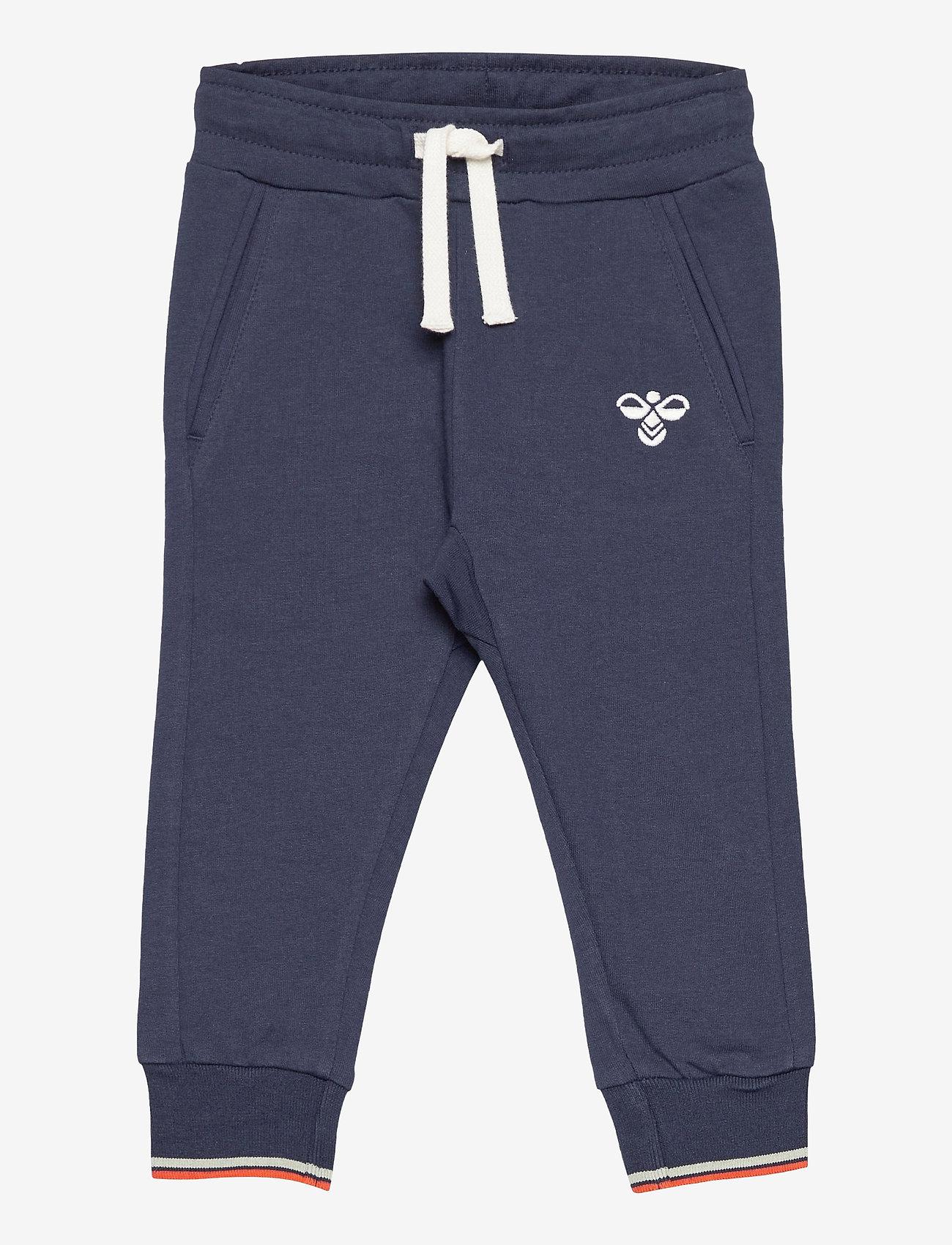 Hummel - hmlCARL PANTS - sweatpants - black iris - 0