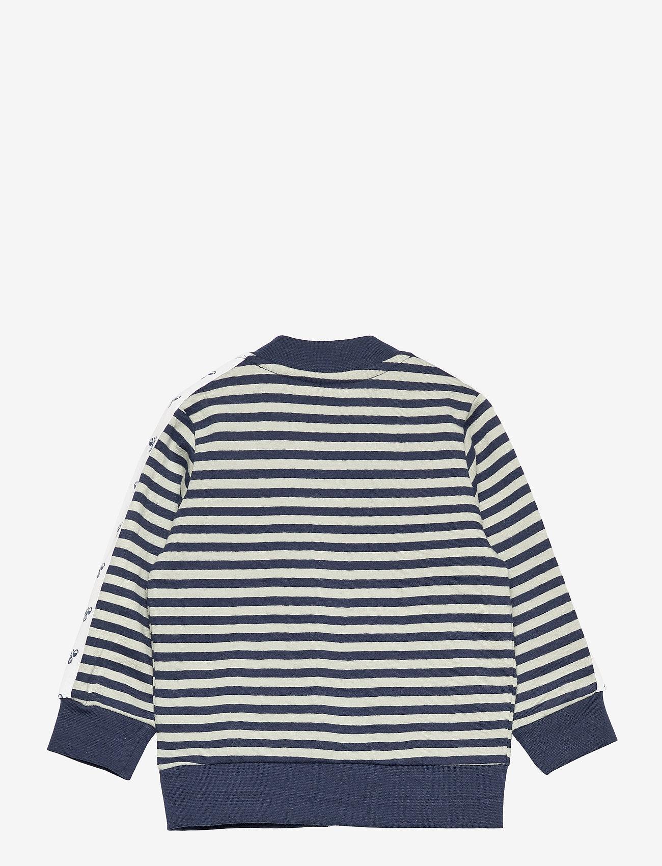 Hummel - hmlVILLUM ZIP JACKET - sweatshirts - black iris - 1