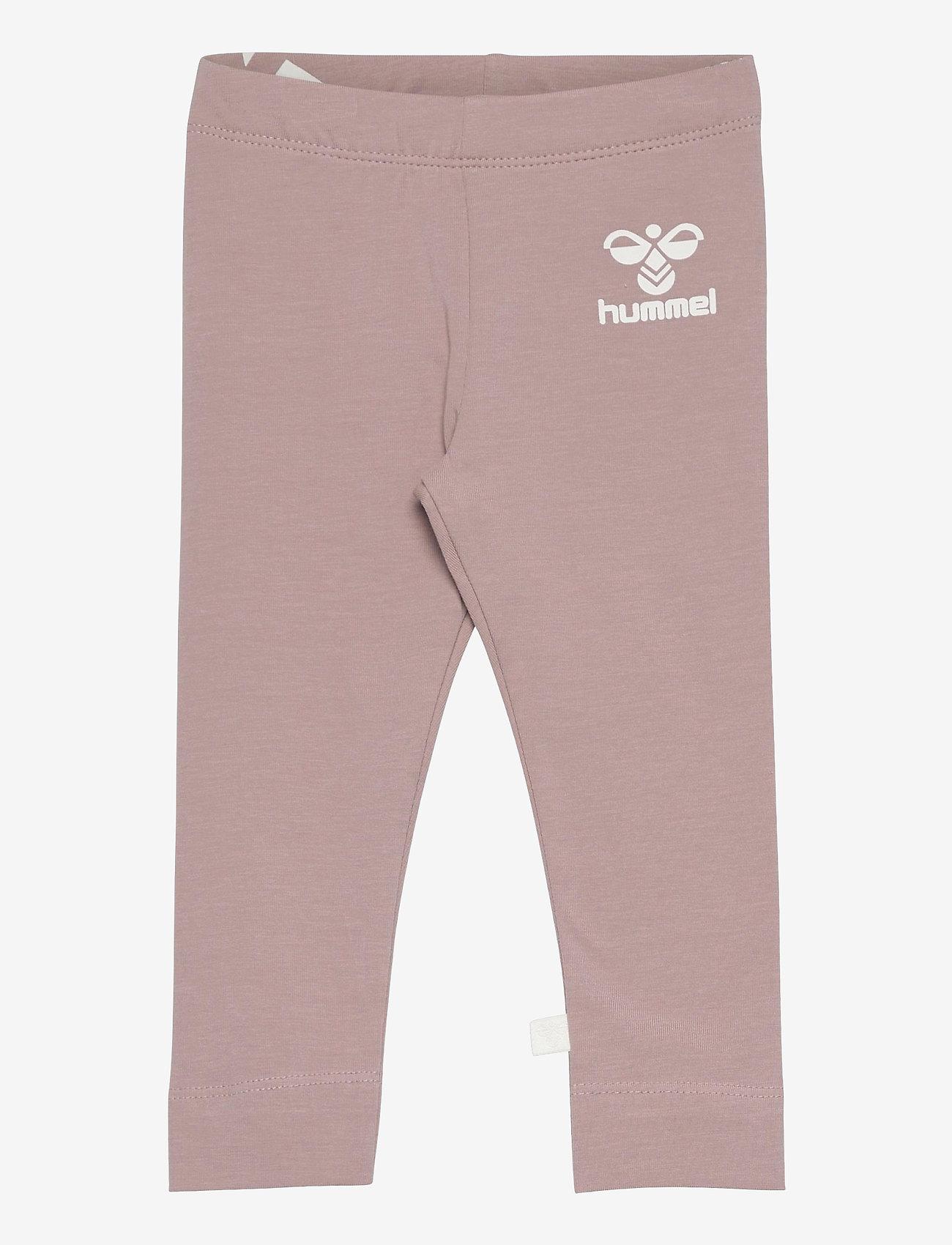 Hummel - hmlMAUI TIGHTS - leggings - woodrose - 0