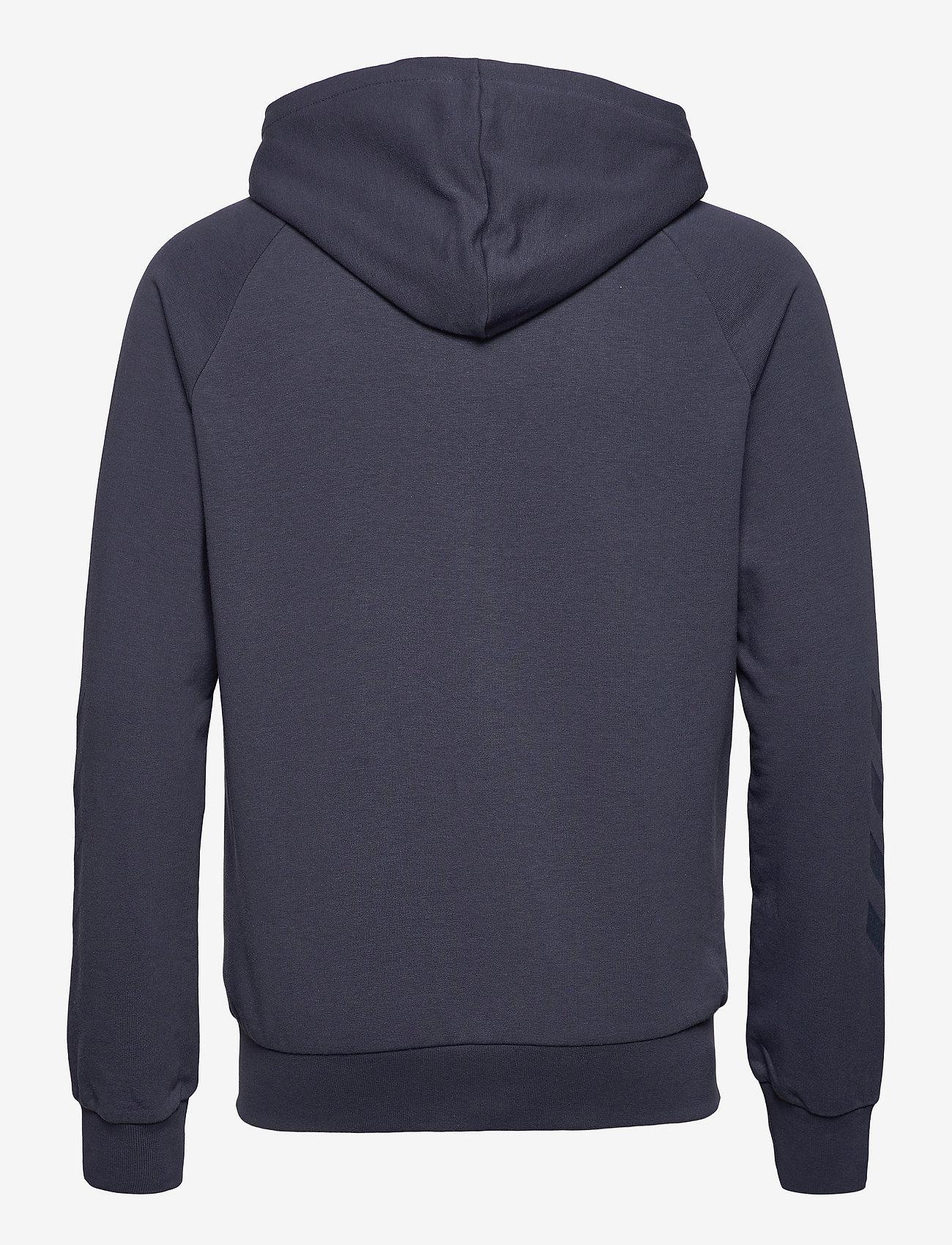 Hummel - hmlISAM ZIP HOODIE - hoodies - blue nights - 1