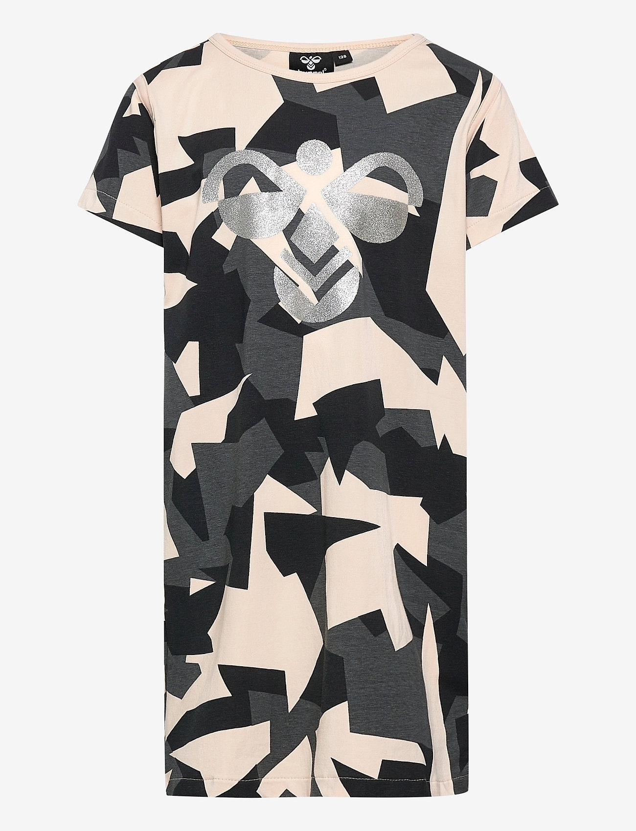 Hummel - hmlDISH DRESS S/S - kleider - black/black - 0