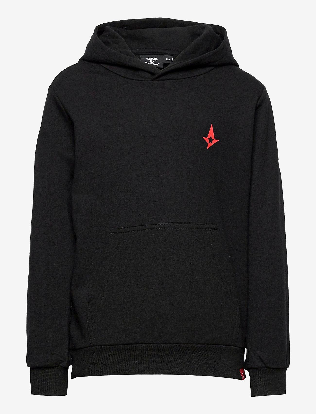 Hummel - hmlASTRALIS CUATRO HOODIE - hoodies - black - 0
