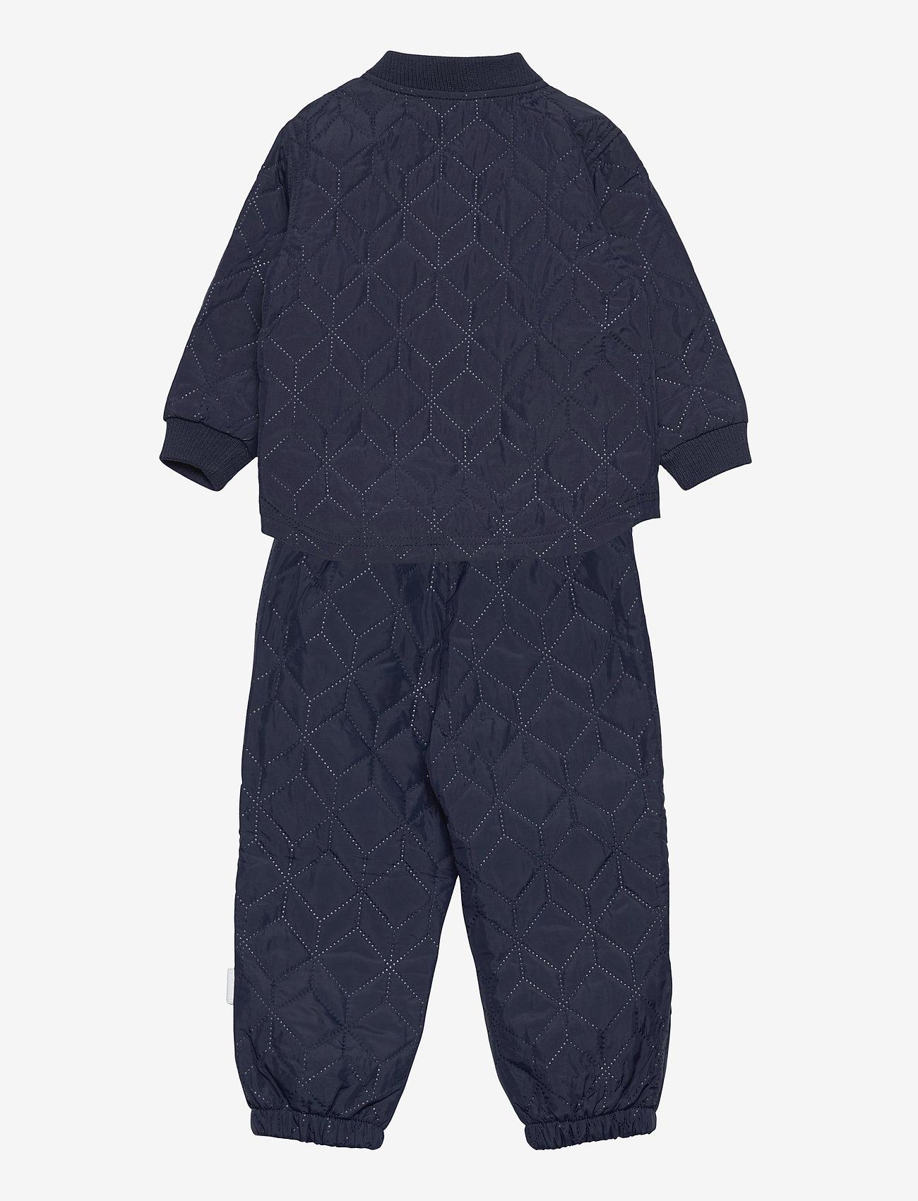 Hummel - hmlSOBI MINI THERMOSET - vêtements d'extérieur - black iris - 1