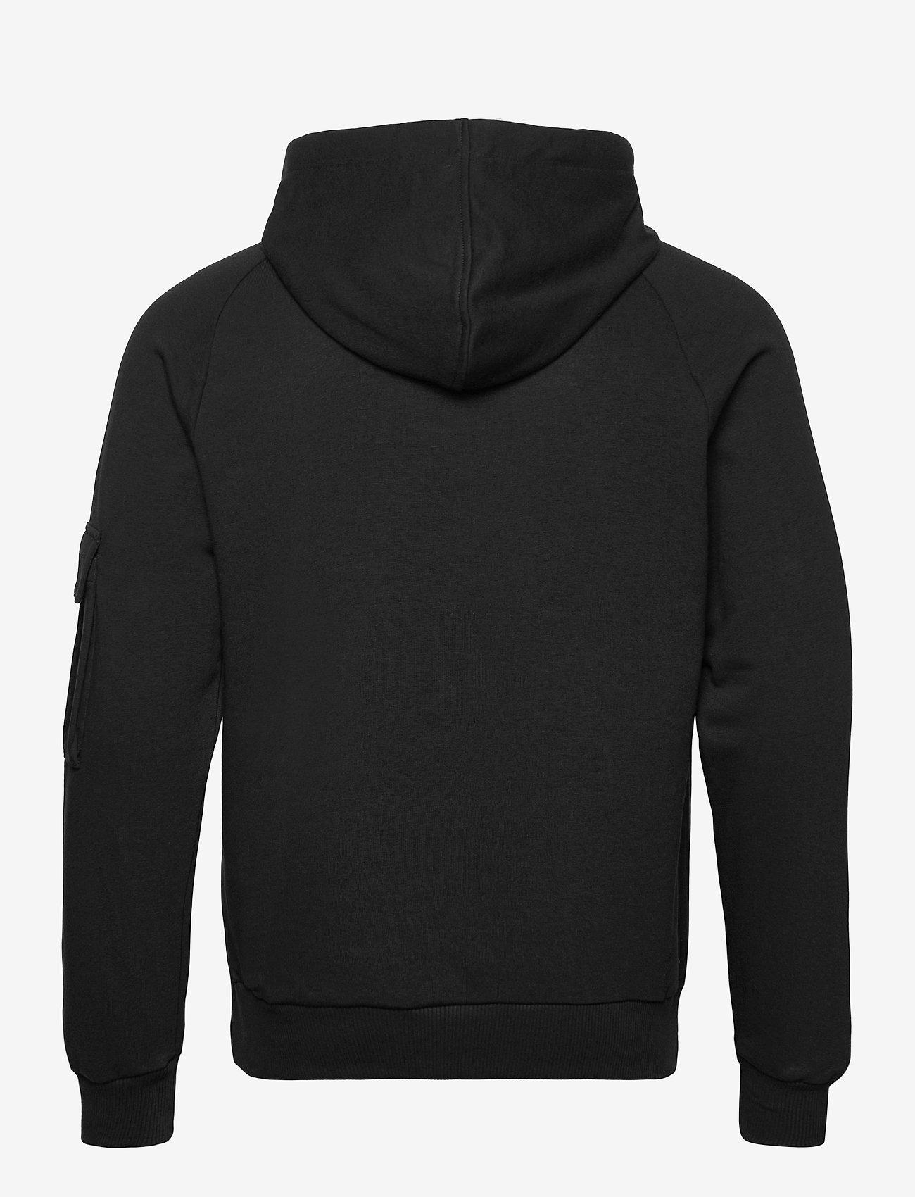 Hummel HMLTALIA HOODIE - Sweatshirts BLACK - Menn Klær