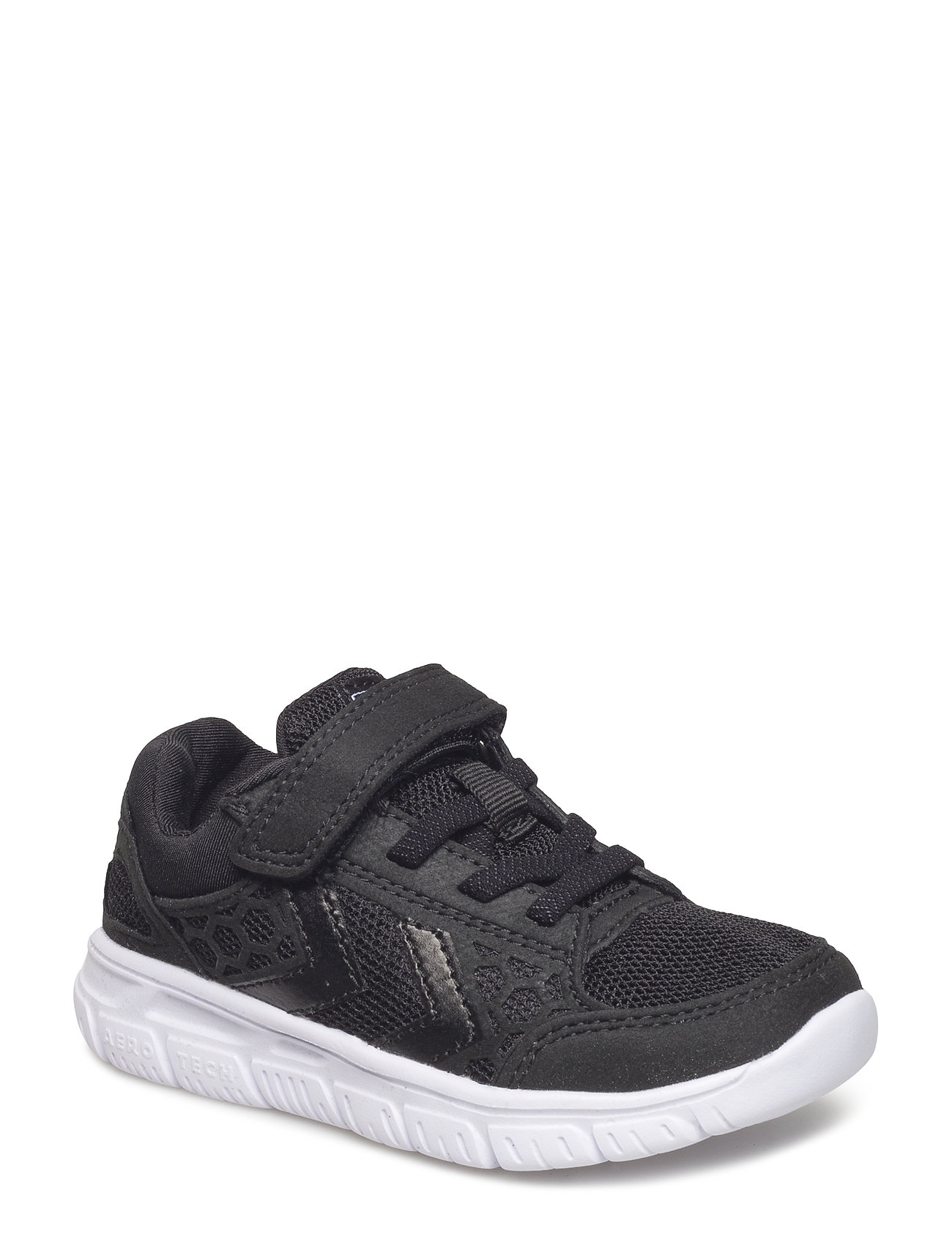 Hummel CROSSLITE SNEAKER JR - BLACK/WHITE