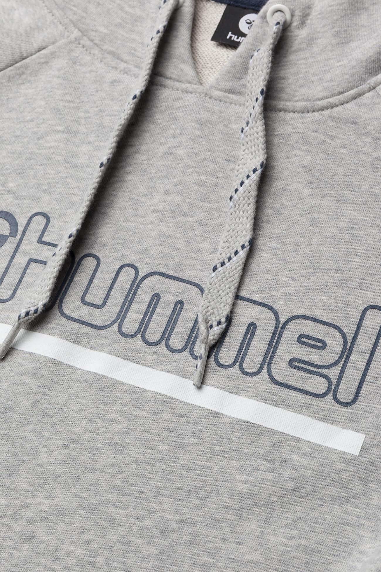 Hummel HMLLEISURELY HOODIE - Swetry GREY MELANGE - Kobiety Odzież.