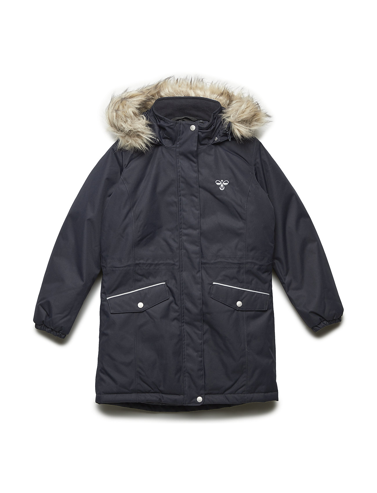 Hummel HMLAGNES COAT - DARK NAVY