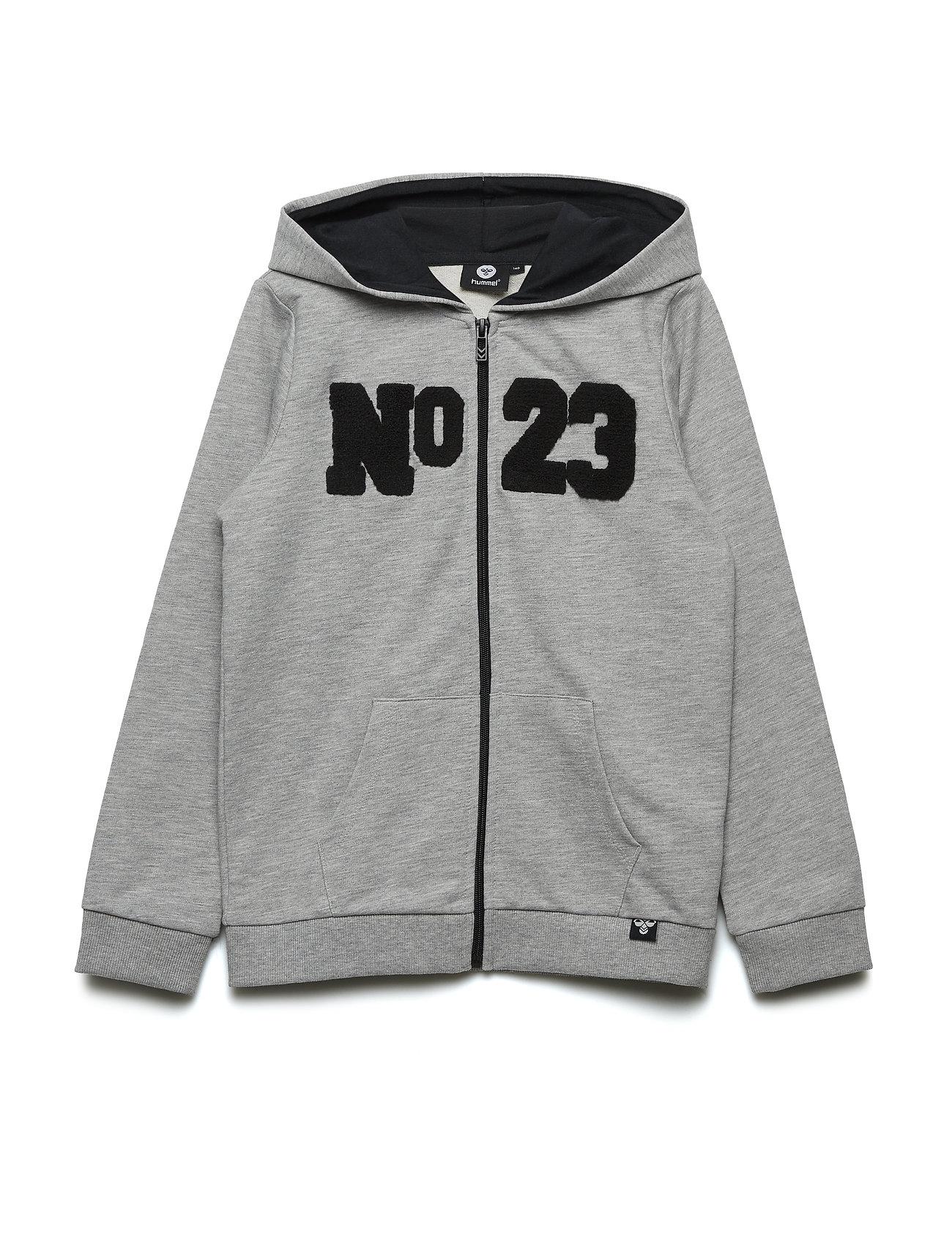23ce1fd4 Hmlbilly Zip Hoodie (Grey Melange) (29.97 €) - Hummel - | Boozt.com