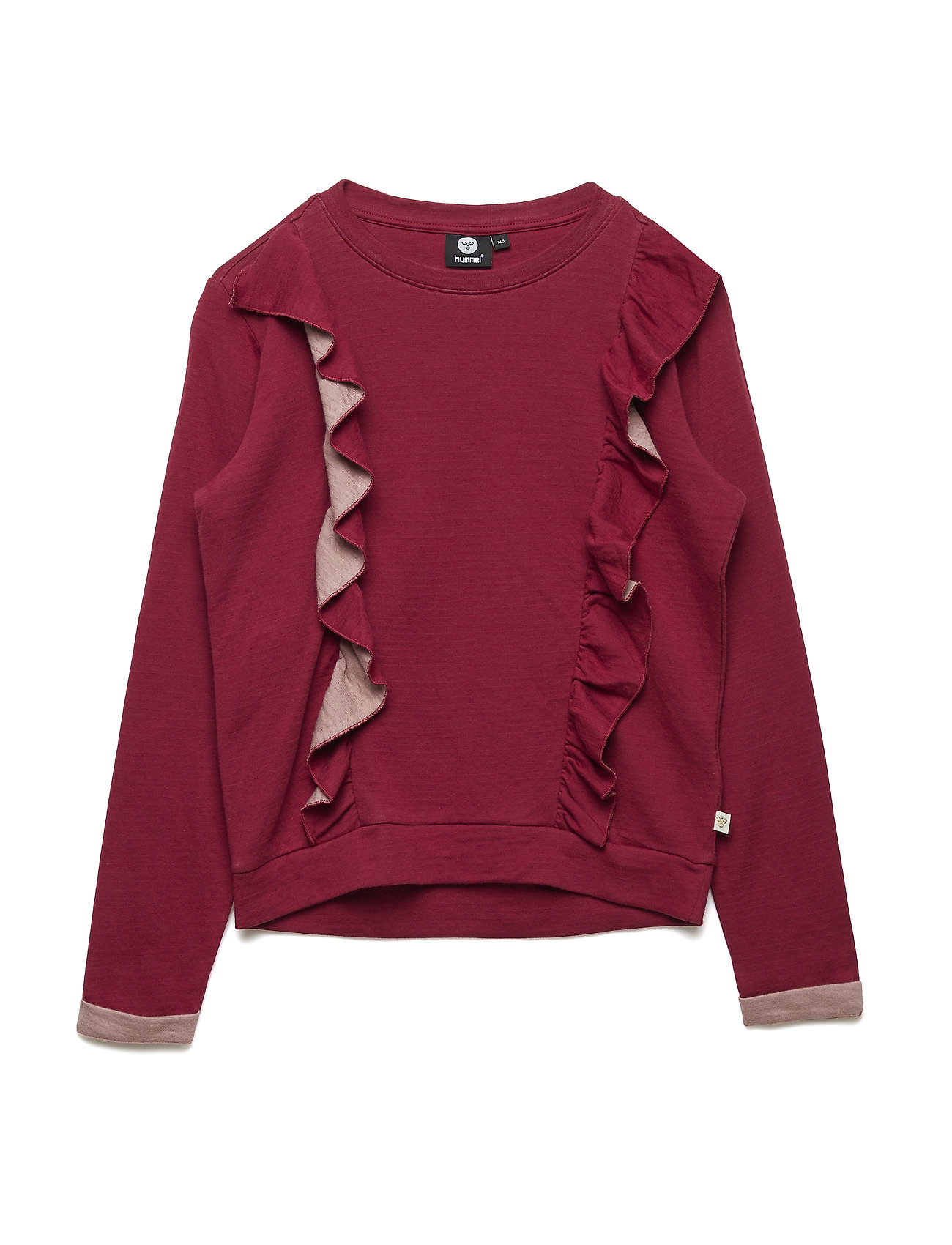 Hummel HMLTILLE T-SHIRT L/S - RUMBA RED