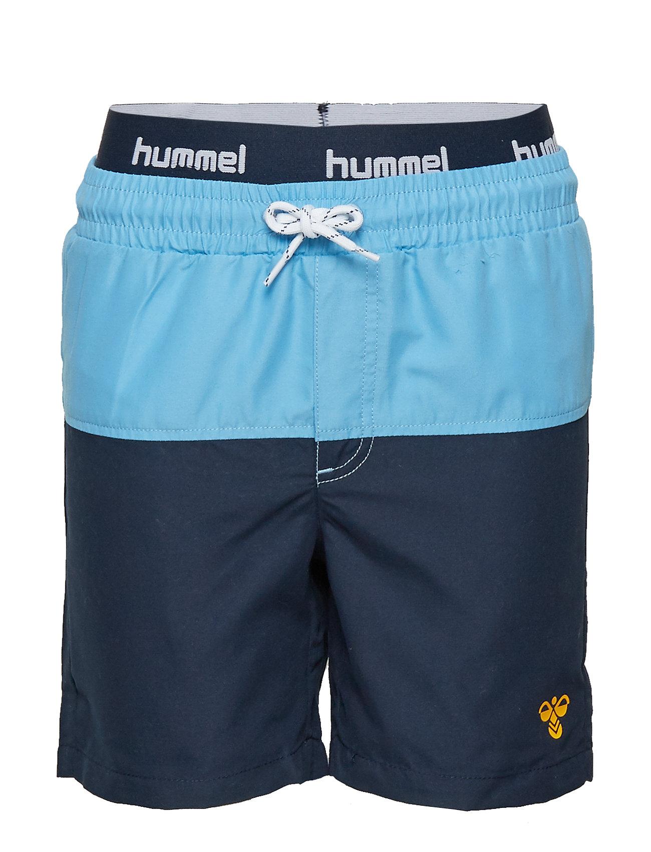 Hummel HMLSPOT BOARD SHORTS - BLACK IRIS